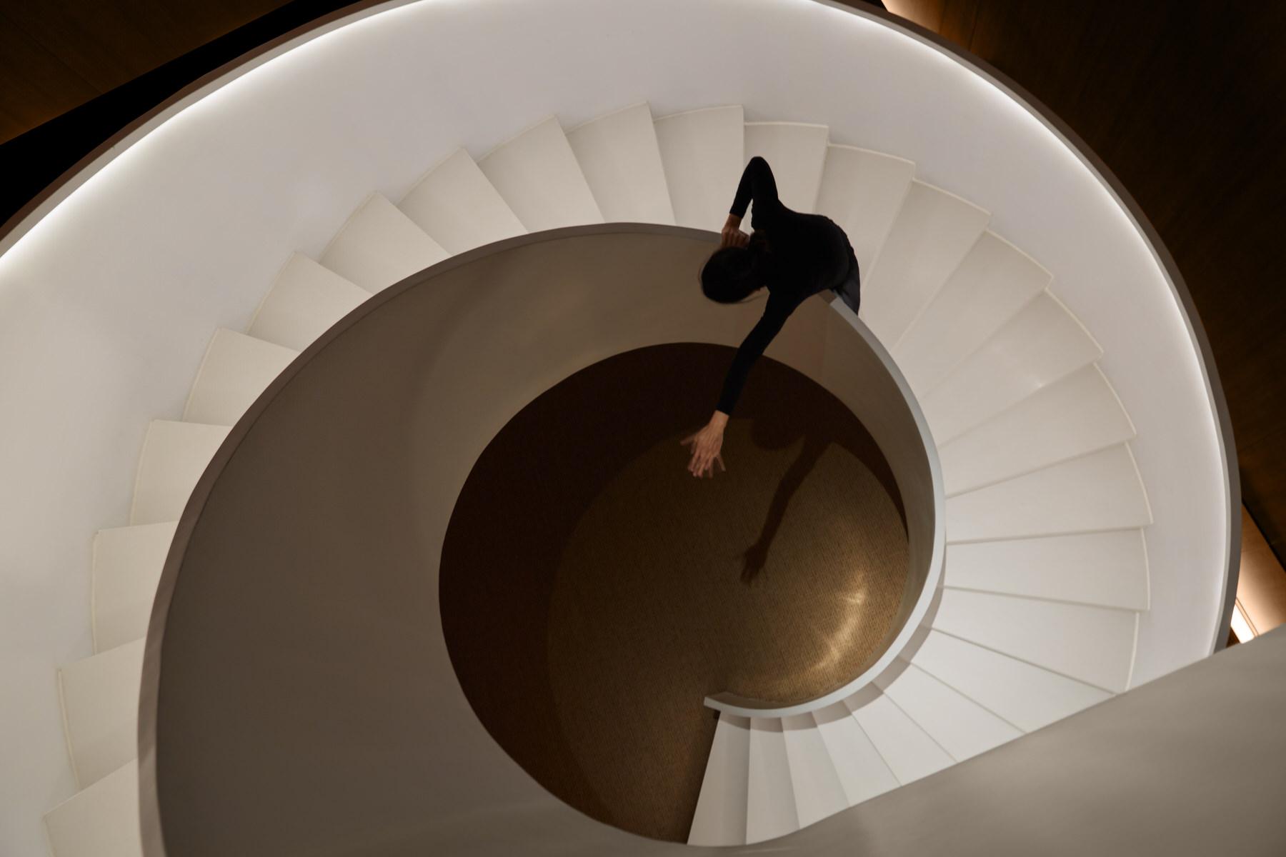 Jiyu Spa Staircase Shanghai, Hip-Pop Design   Yellowtrace