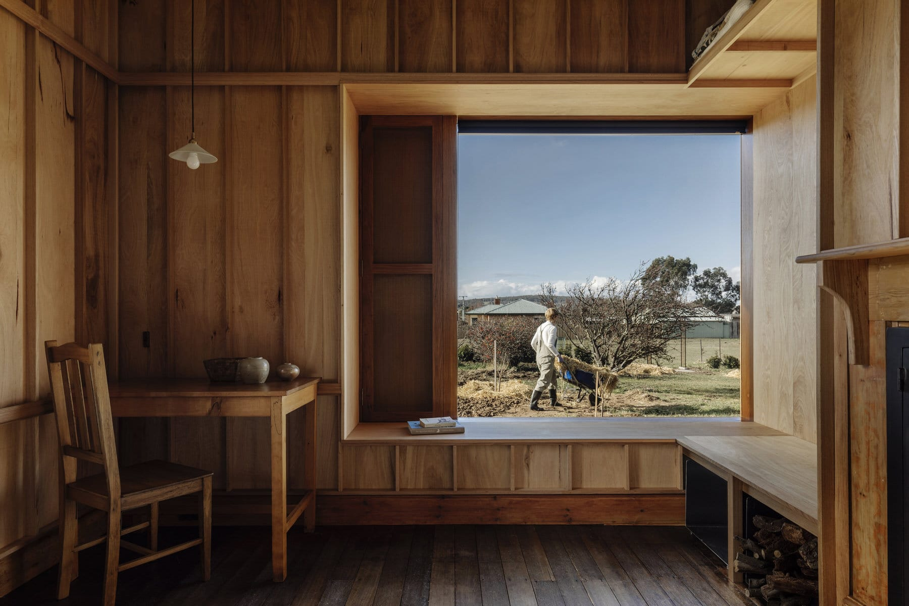 Bozen's Cottage by Taylor + Hinds, Tasmanian Architecture, Photo Adam Gibson | Yellowtrace