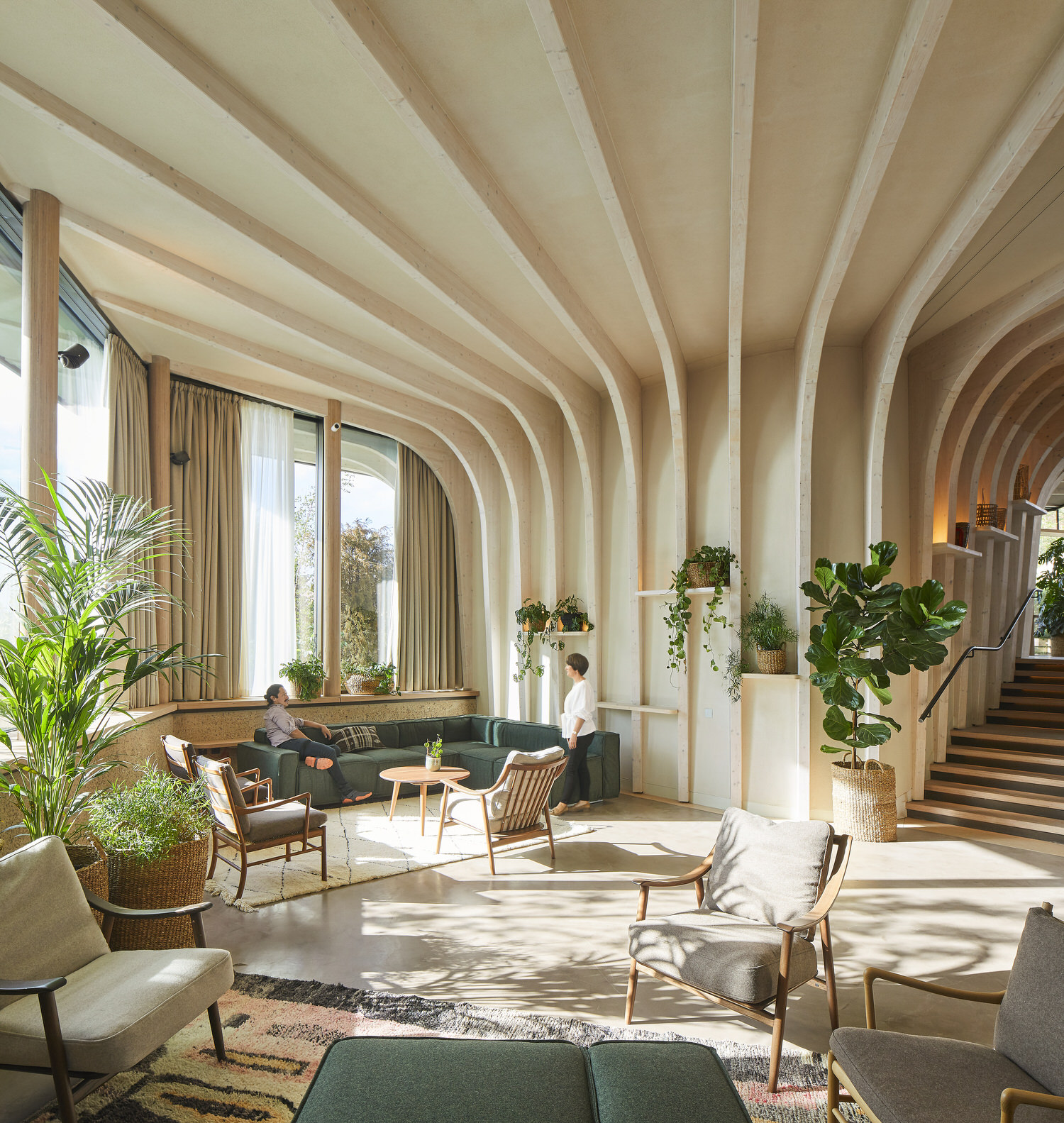 Heatherwick Studio, Maggie's Cancer Centre Leeds, Healthcare & Wellness Architecture | Photo Hufton+Crow | Yellowtrace