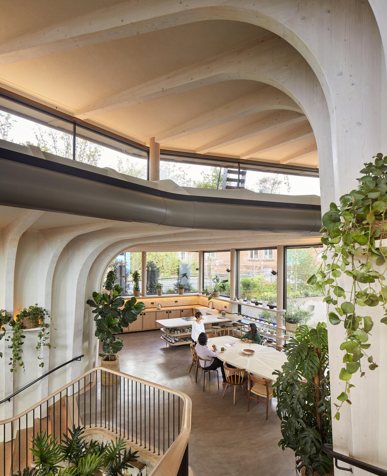 Heatherwick Studio, Maggie's Cancer Centre Leeds, Healthcare & Wellness Architecture   Photo Hufton+Crow   Yellowtrace