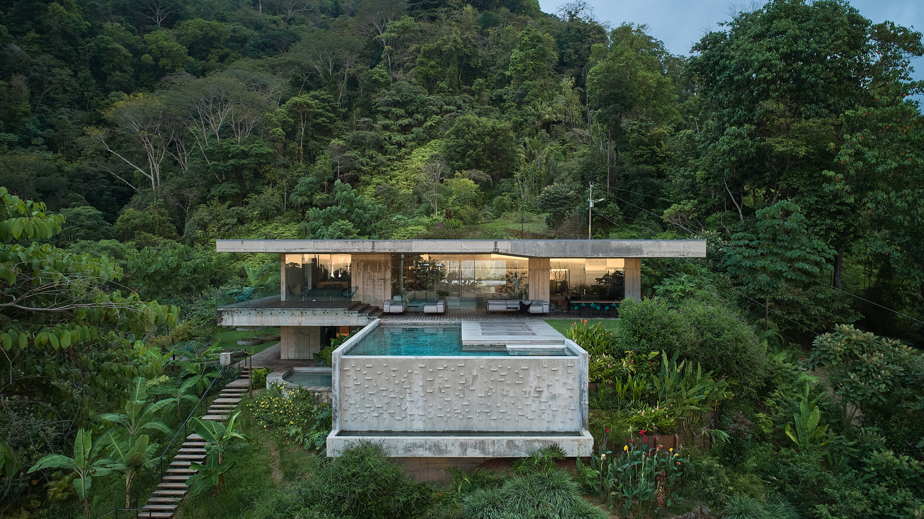 Art Villa, Playa Hermosa, Costa Rica, Refuel Works & Formafatal, Tropical Architecture, Photo BoysPlayNice | Yellowtrace