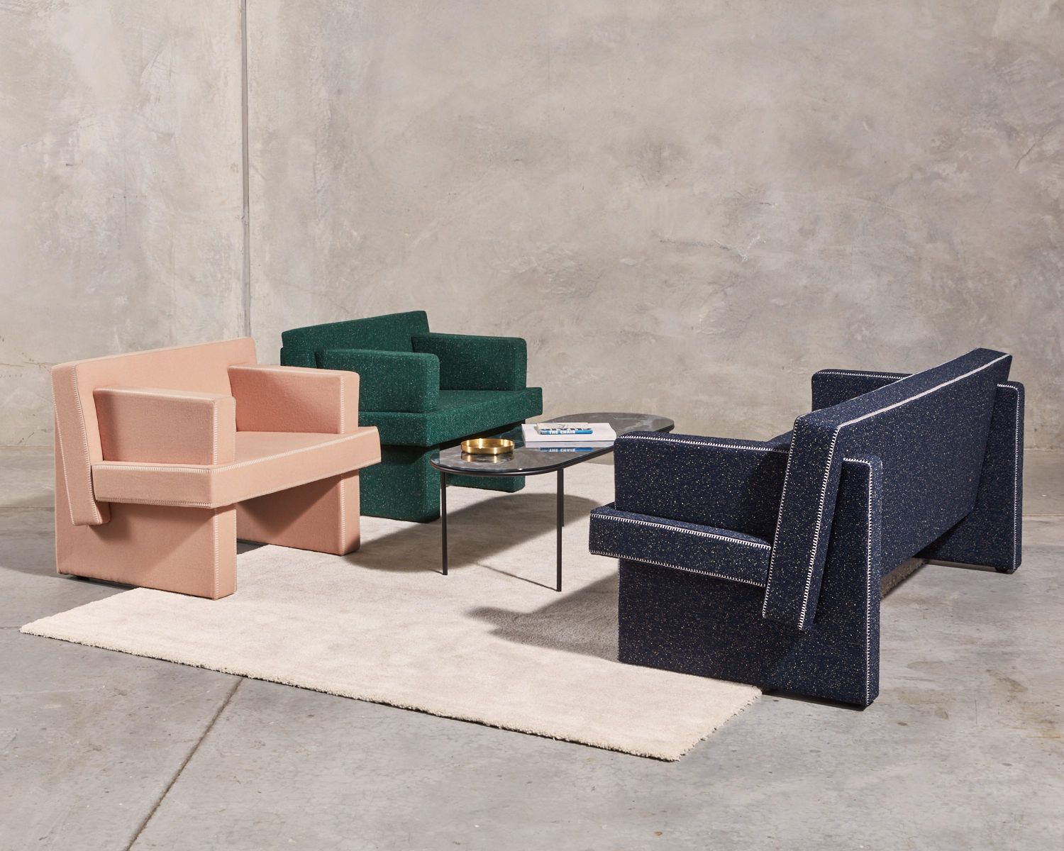 Gibson Karlo's August Lounge Collection for DesignByThem padstyle