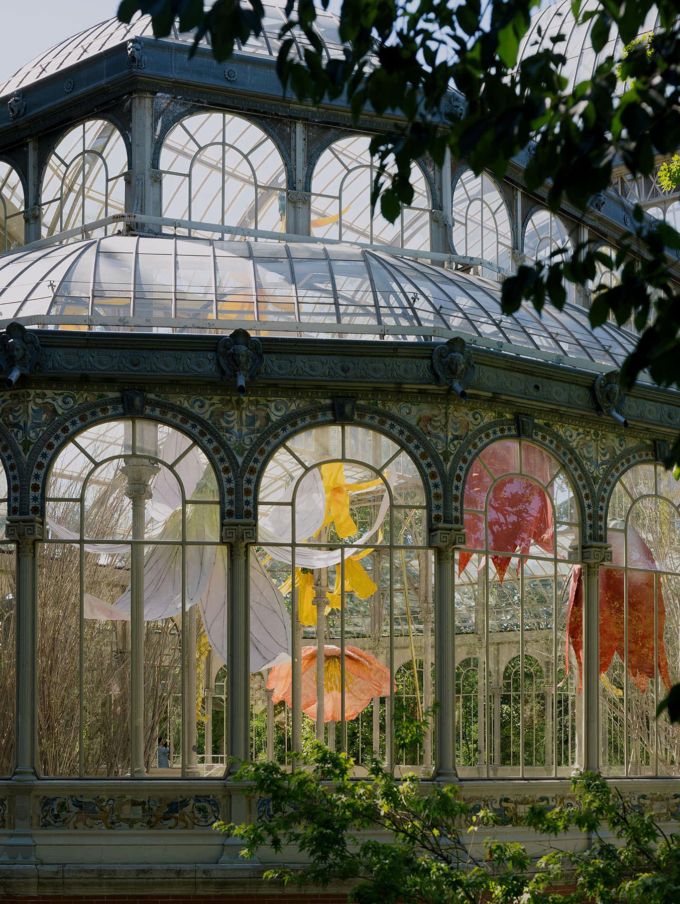 Petrit Halilaj at Reina Sofia Madrid, Palacio De Cristal, Installation Art | Yellowtrace