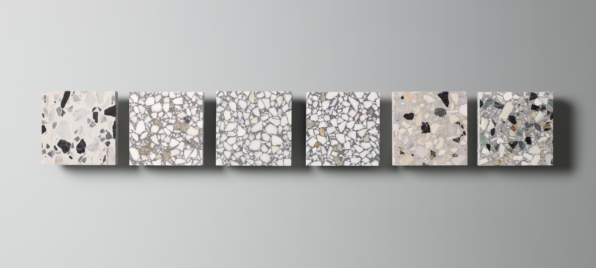 Fibonacci Stone, Matter Collection Terrazzo Tiles | Yellowtrace
