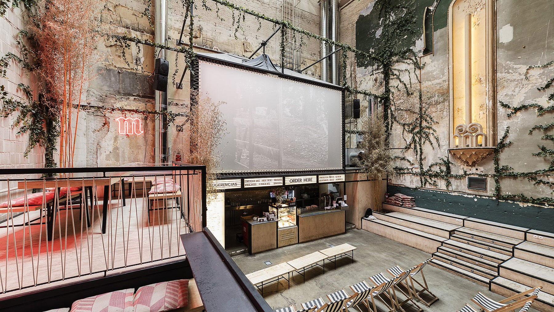 Sala Equis, Madrid Cinema Interiors, Plantea Estudio | Yellowtrace