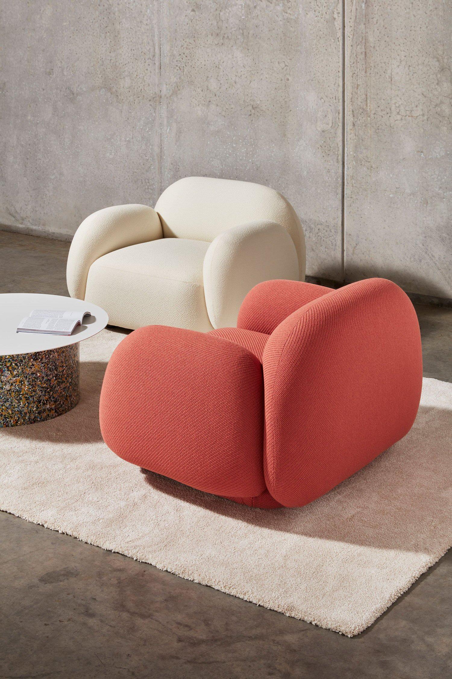 DesignByThem Sundae Armchair, Confetti Coffee Table, Australian Design   Yellowtrace