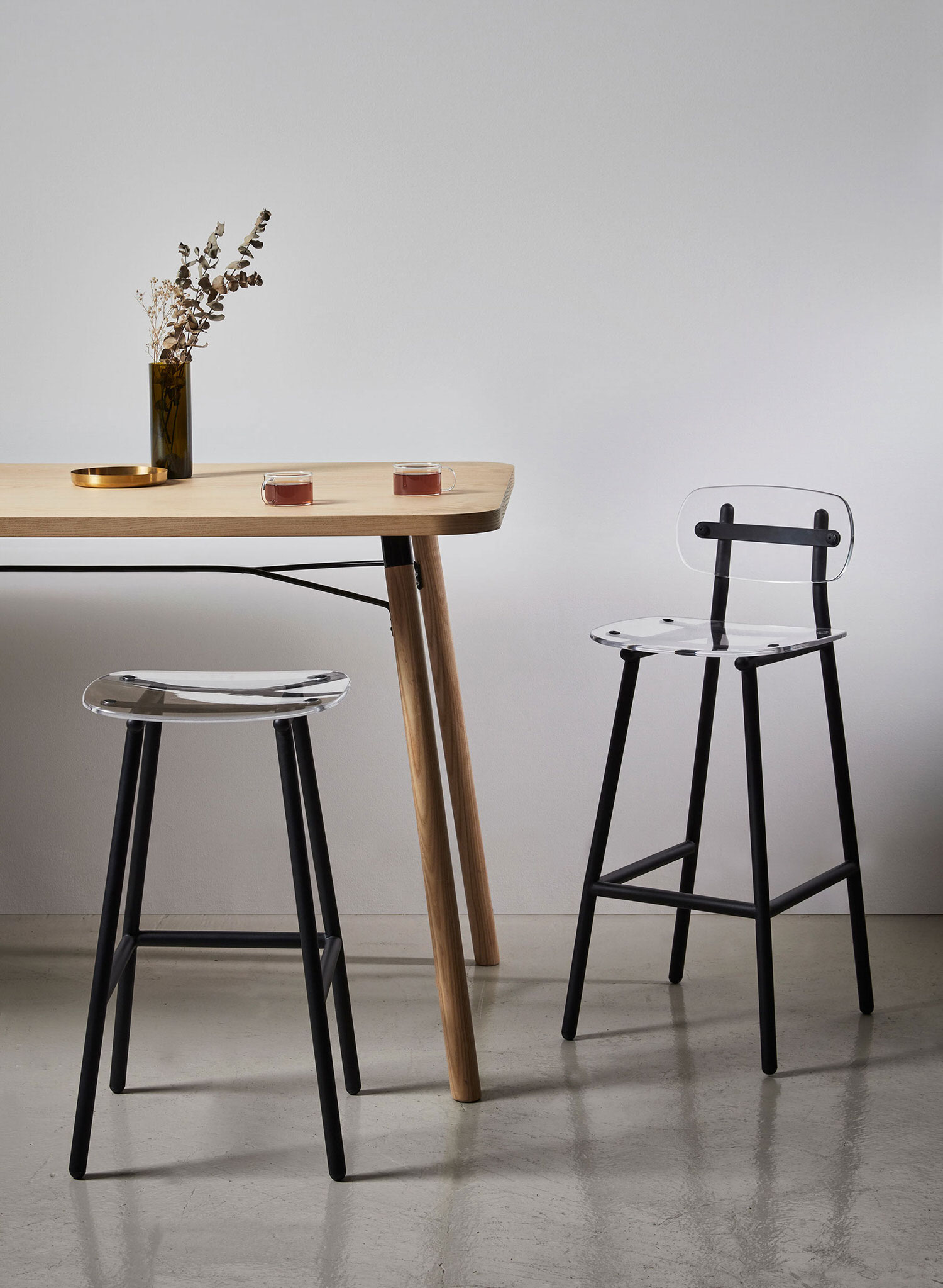DesignByThem Fenster Bar Stool, Partridge Bar Table, Australian Design   Yellowtrace