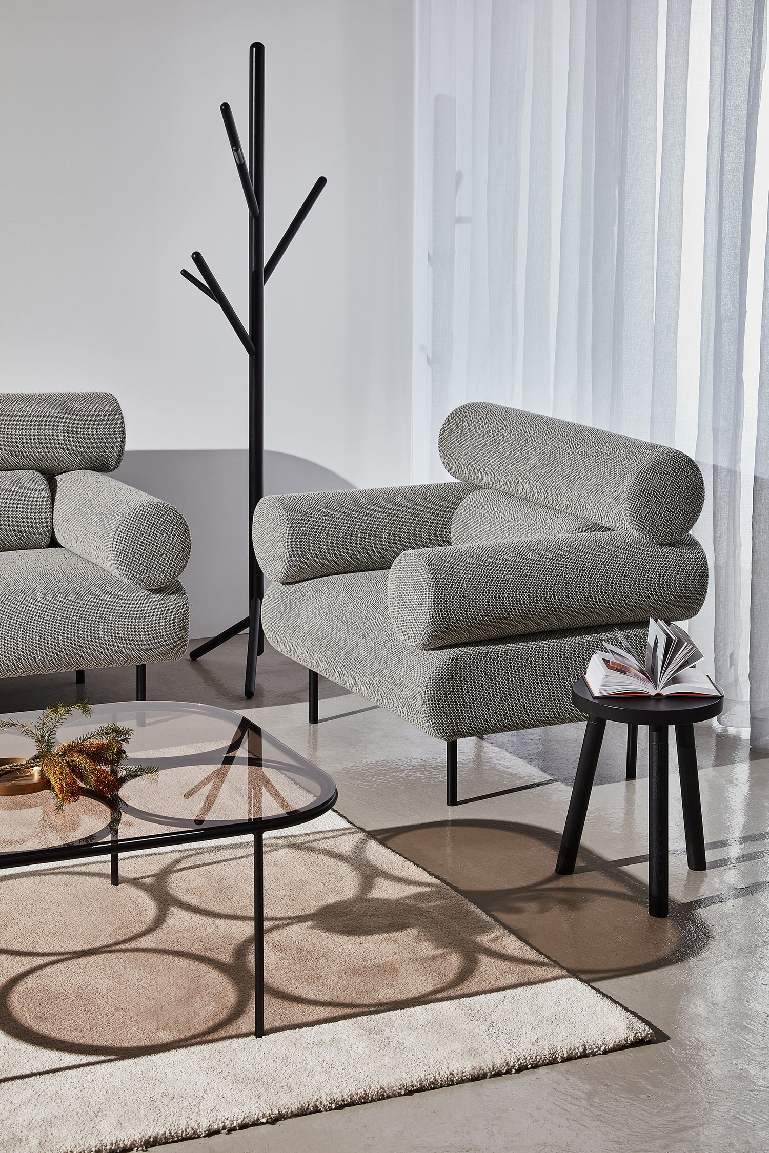 DesignByThem Cabin Lounge Armchair, Chapel Coffee Table, Photo Pete Daly   Yellowtrace