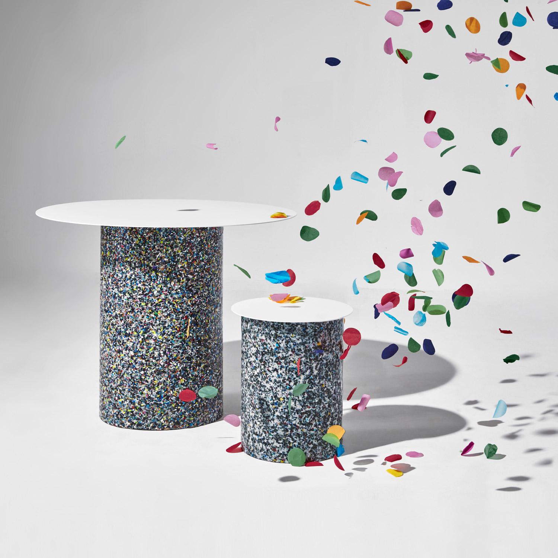 DesignByThem Confetti Dining Table + Coffee Table White, Australian Design   Yellowtrace