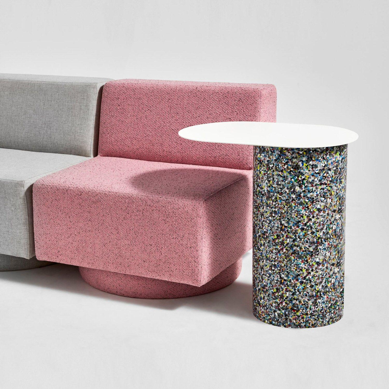 DesignByThem Confetti Pill Side Table, Australian Design   Yellowtrace