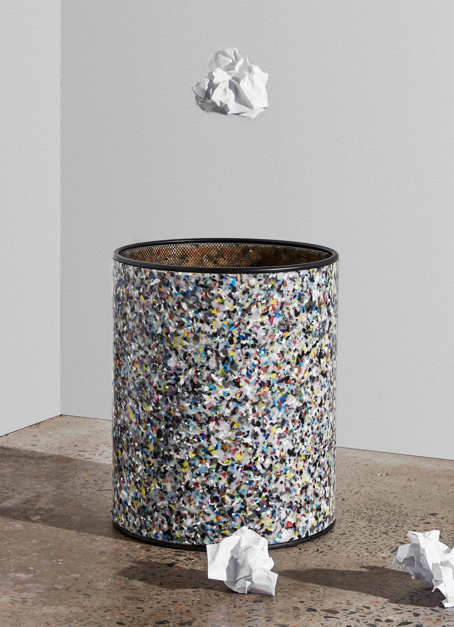 DesignByThem Confetti Paper Bin, Australian Design   Yellowtrace