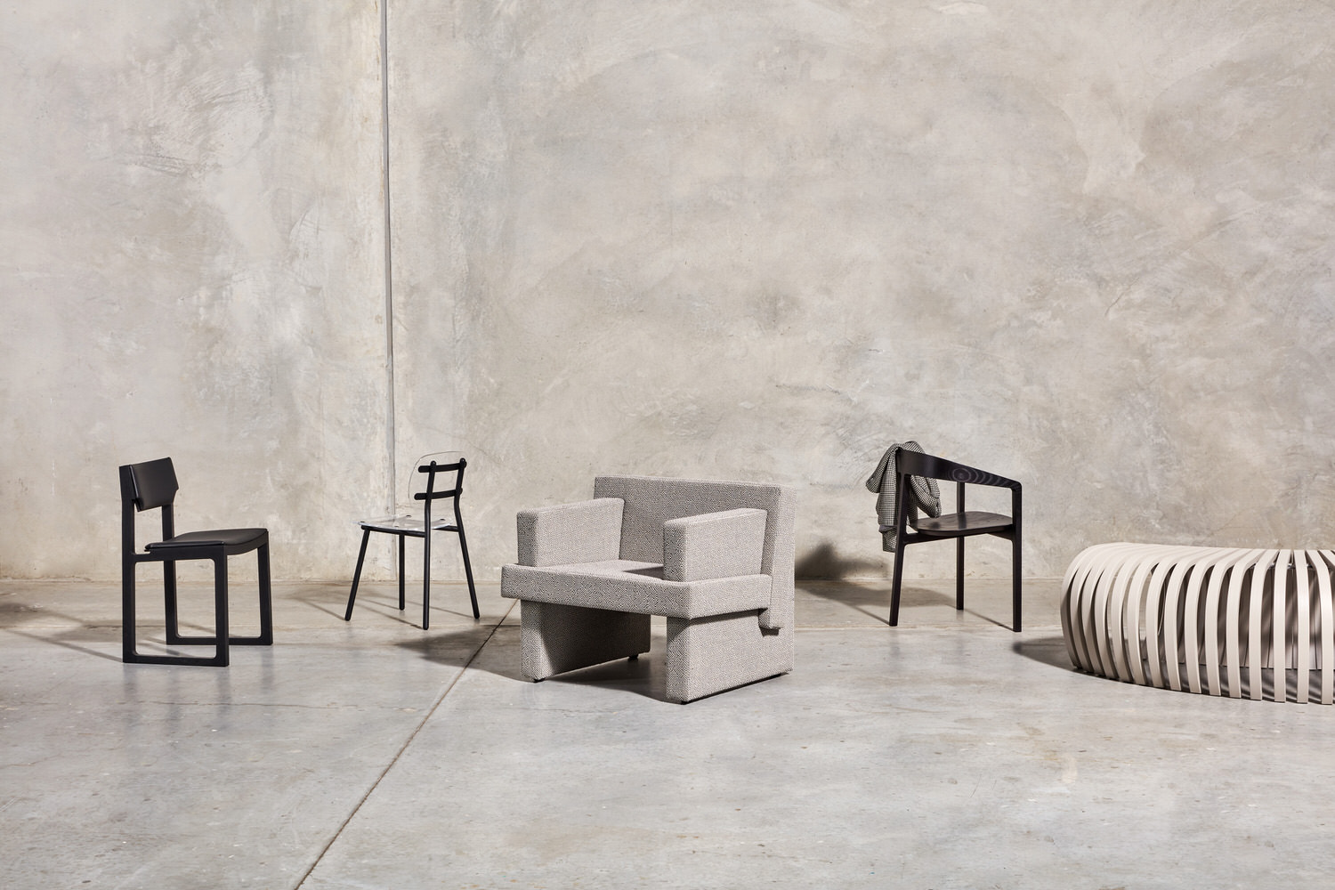 DesignByThem + GibsonKarlo Seating Collection, Australian Design, Photo Pete Daly   Yellowtrace