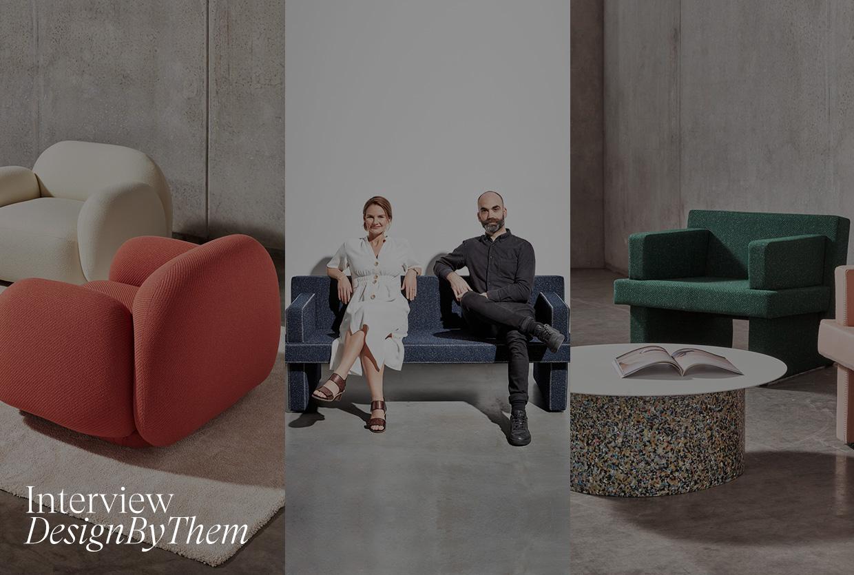 Interview: Sarah Gibson & Nicholas Karlovasitis of DesignByThem.