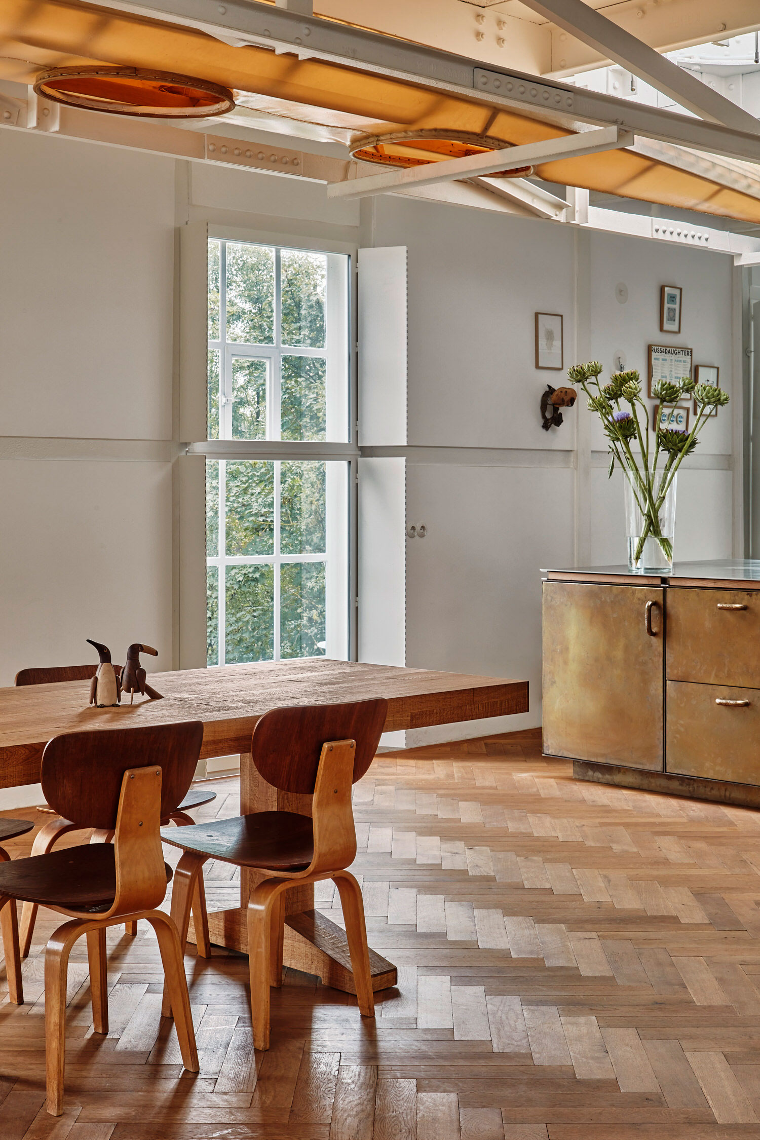 Studio Modijefsky, Ketelhuis Residence Zaandam, Residential Interior, Gallery Space, Artist Studio, Photo Maarten Willemstein | Yellowtrace