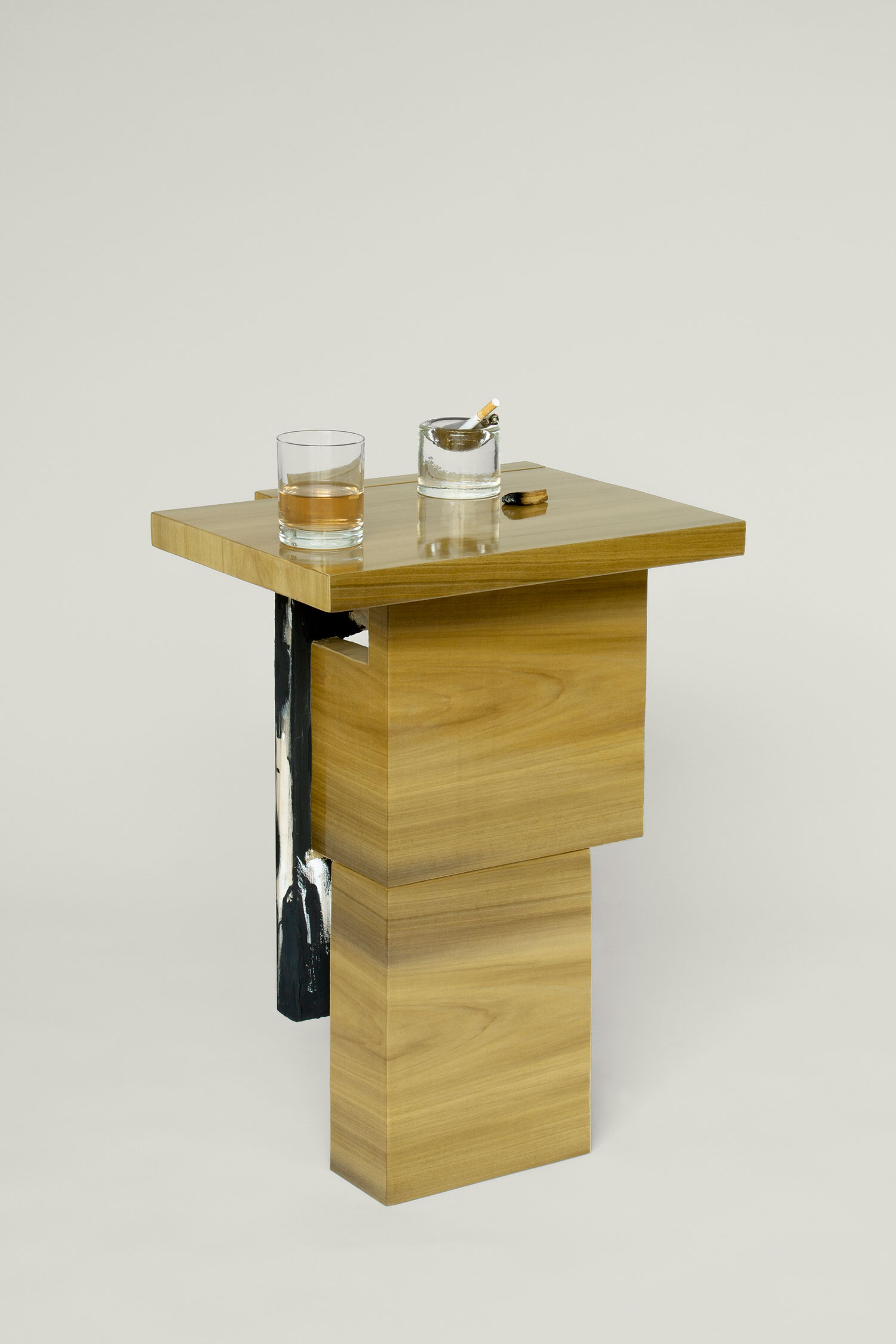 Grace Prince, Ash Side Table, Collectible Design | Yellowtrace