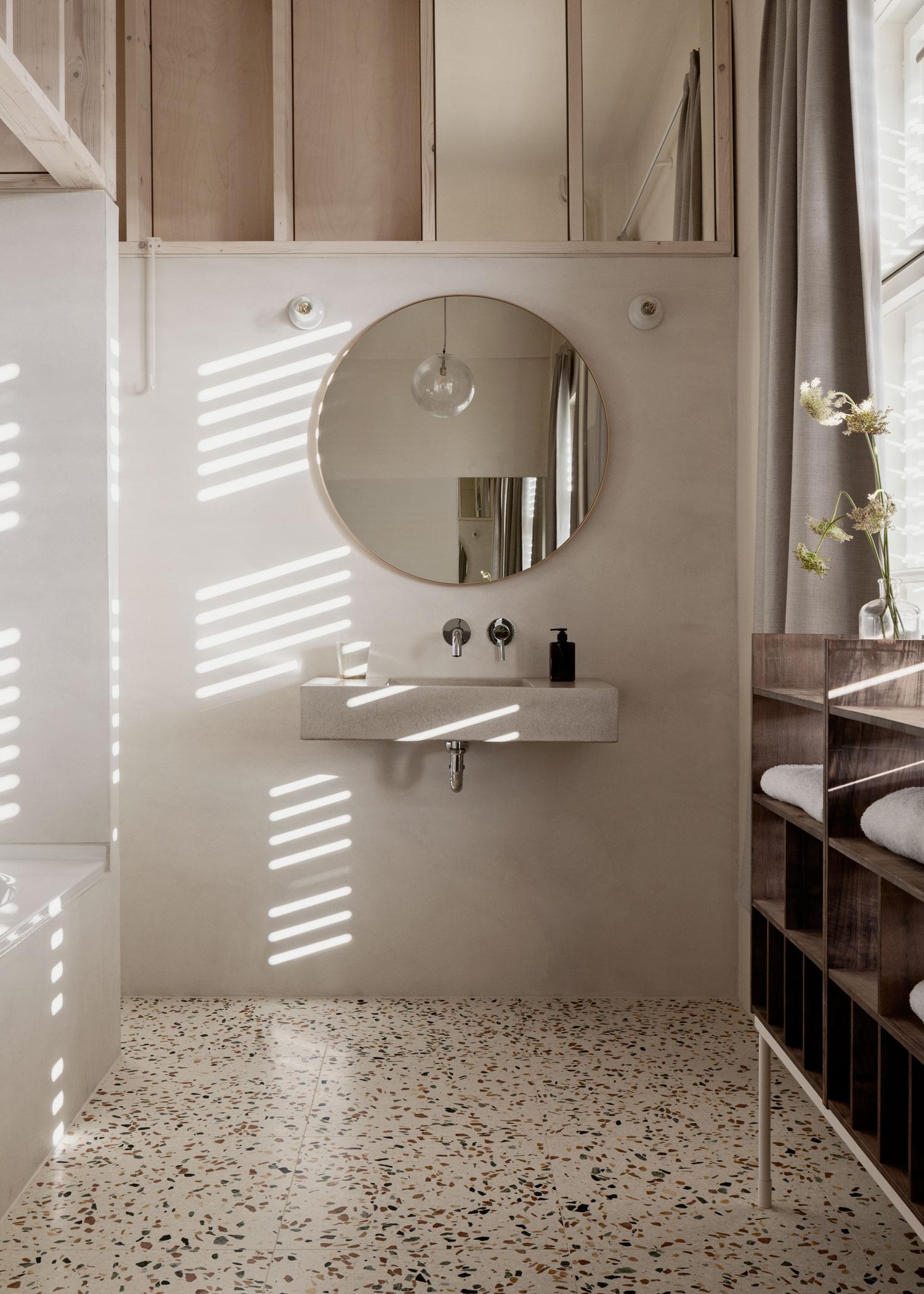 Michelberger Hotel Room Refurbishment in Berlin by Jonathan Tuckey Design.