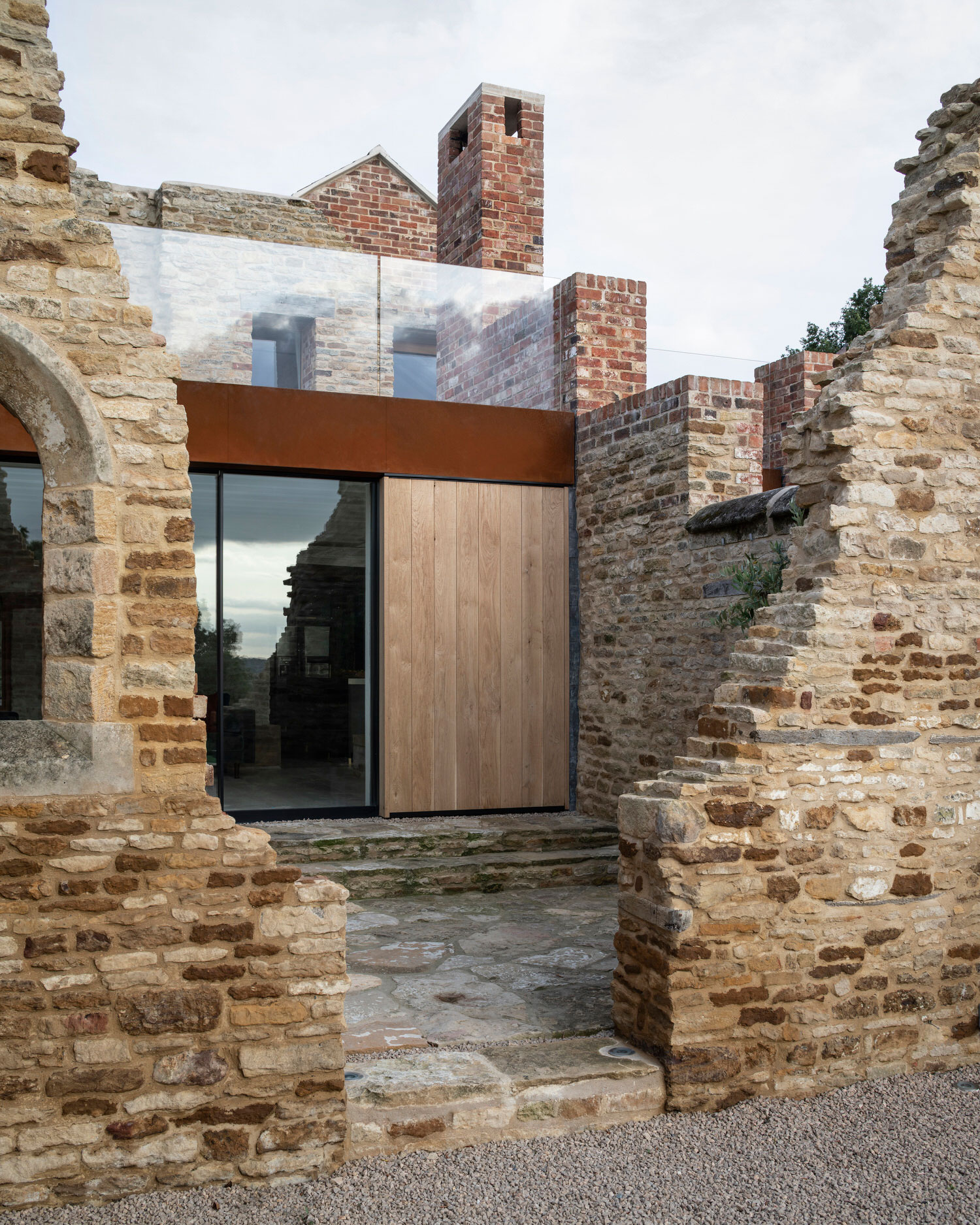 Parchment Works House Will Gamble Architects Photo Johan Dehlin Uk Architecture Residential Extensions Yellowtrace 04