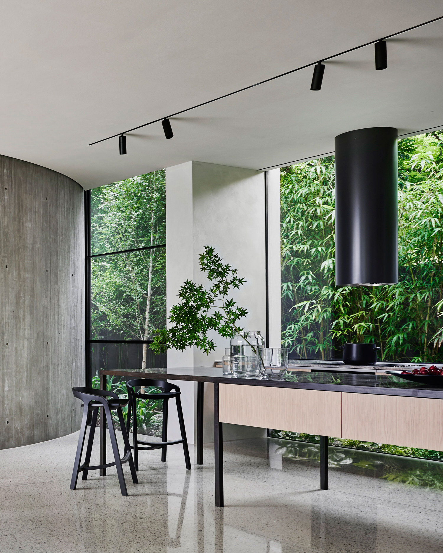 Twig House by Leeton Pointon Architects + Interiors with Allison Pye Interiors, Photo Lisa Cohen | Yellowtrace