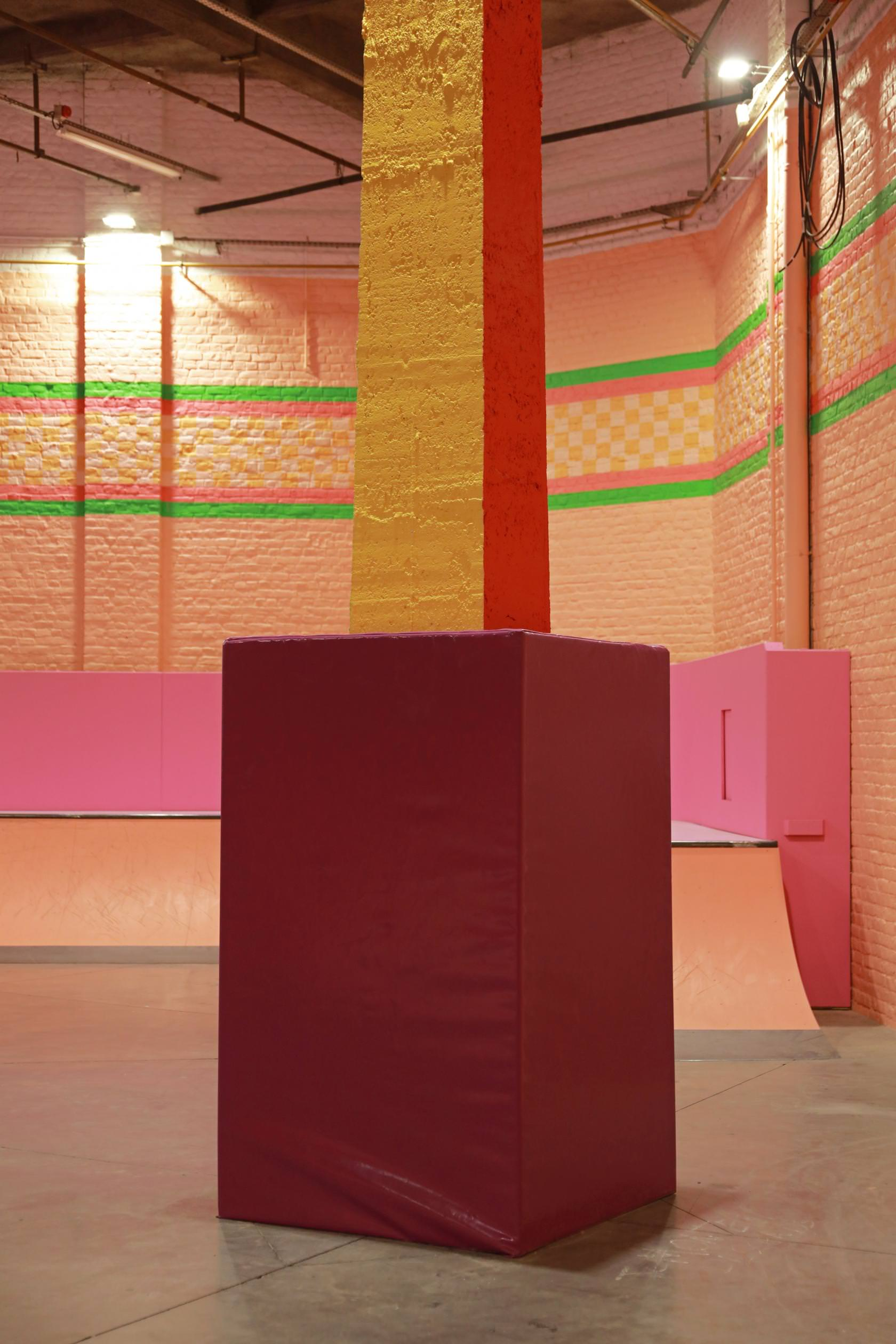 Yinka Ilori, Colorama Skatepark in 19thC Warehouse in Roubaix, Photo Maxime Dufour | Yellowtrace