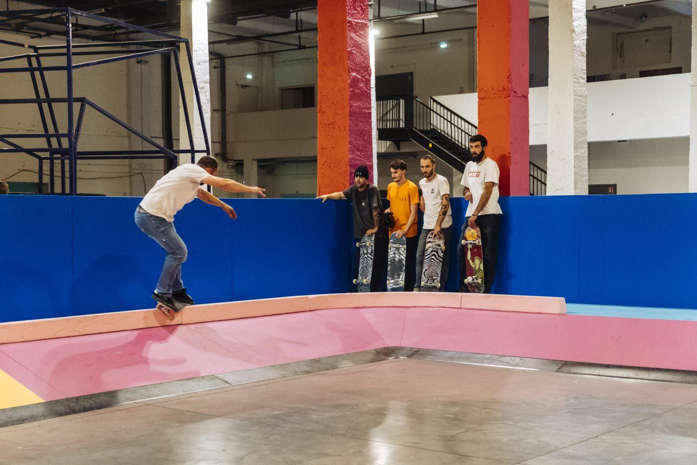 Yinka Ilori, Colorama Skatepark Lille, France | Yellowtrace