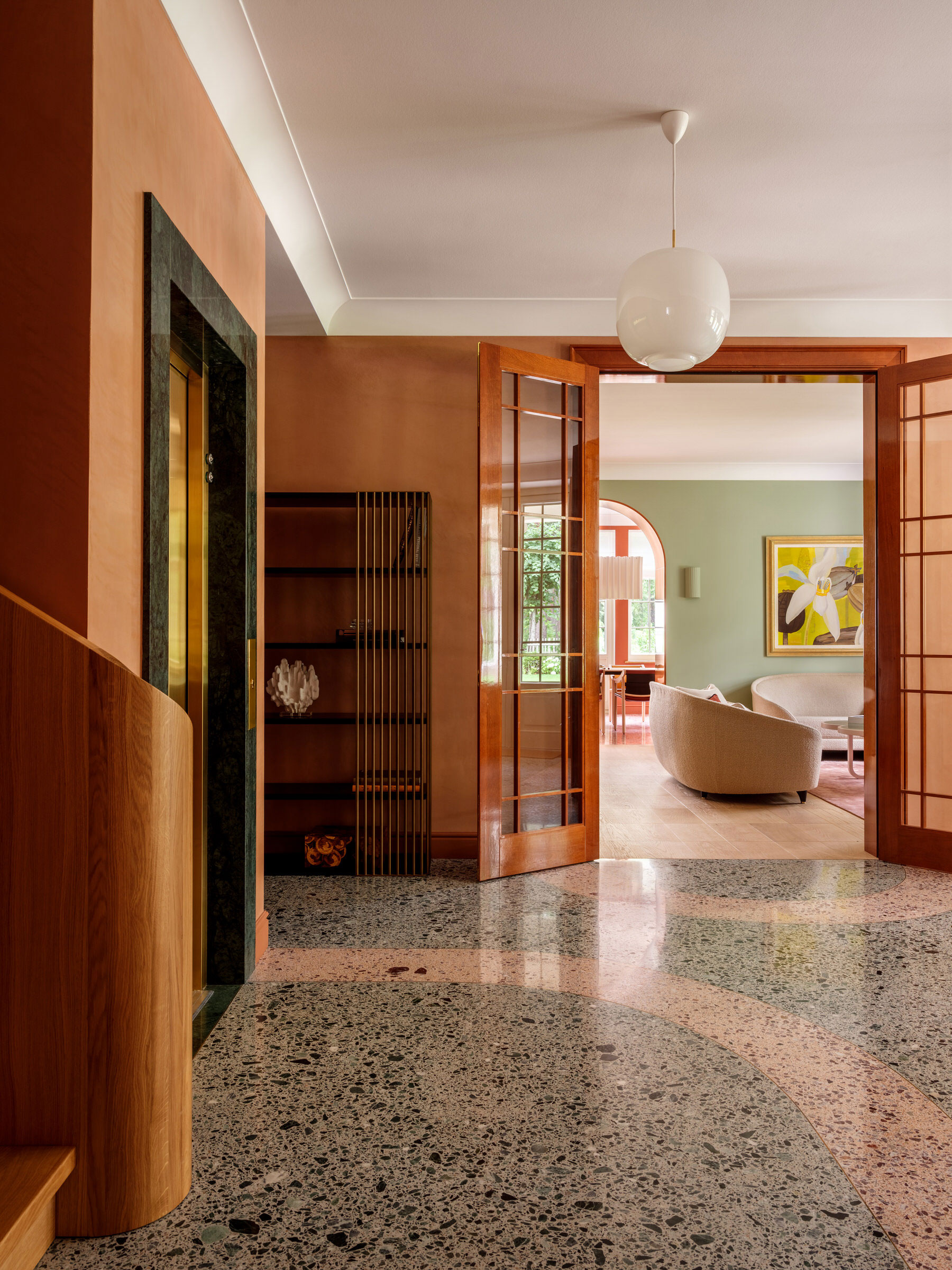 Agnes Rudzite Interiors, 1930s Villa In Jurmala, Latvia, Heritage Interior, Photo Mikhail Loskutoff | Yellowtrace