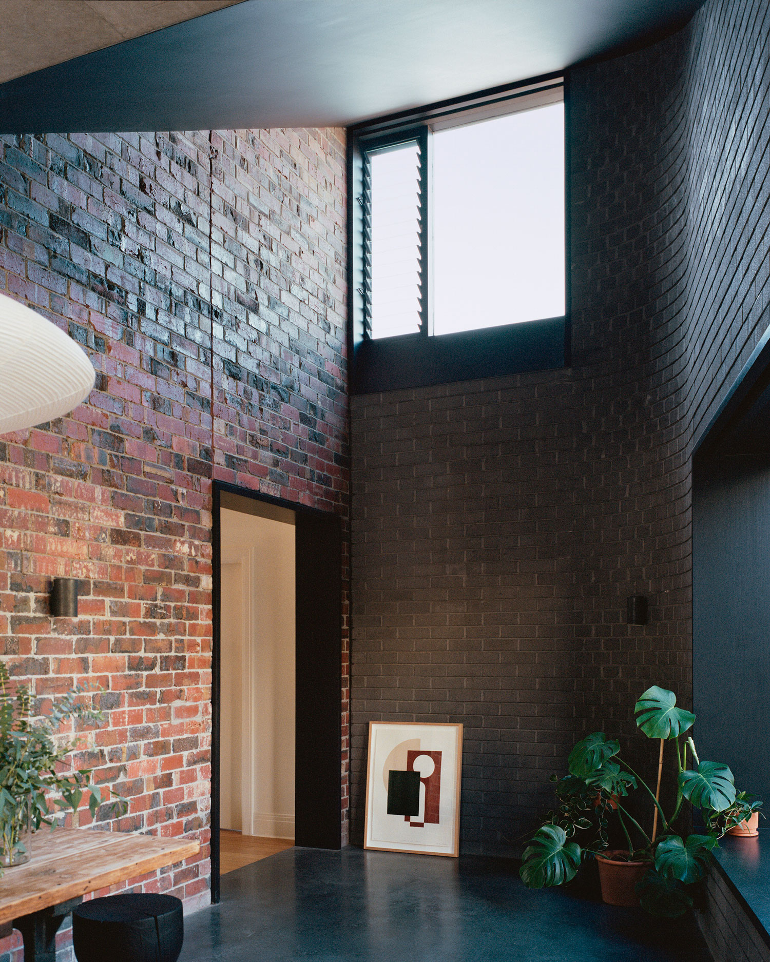 Clinker Brick House in Mentone, VIC by Studio Bright.