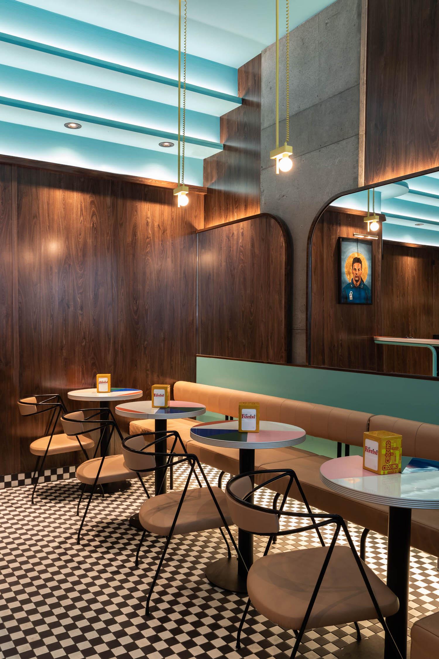 Menard Dworkind, Caffettiera Caffe Bar Montreal Hospitality Interior, Photo David Dworkind | Yellowtrace