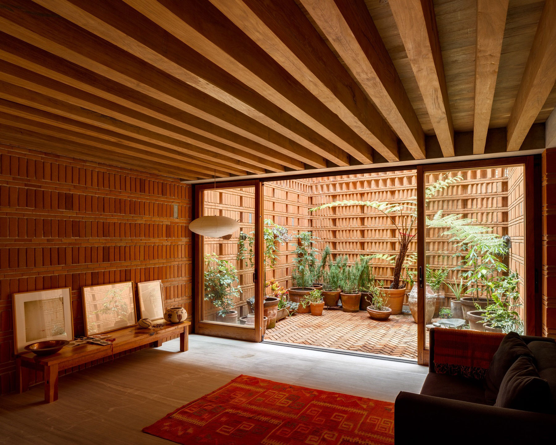 Iturbide Studio Mexico City Brick Architecture Taller Mauricio Rocha Gabriela Carrillo Yellowtrace 16