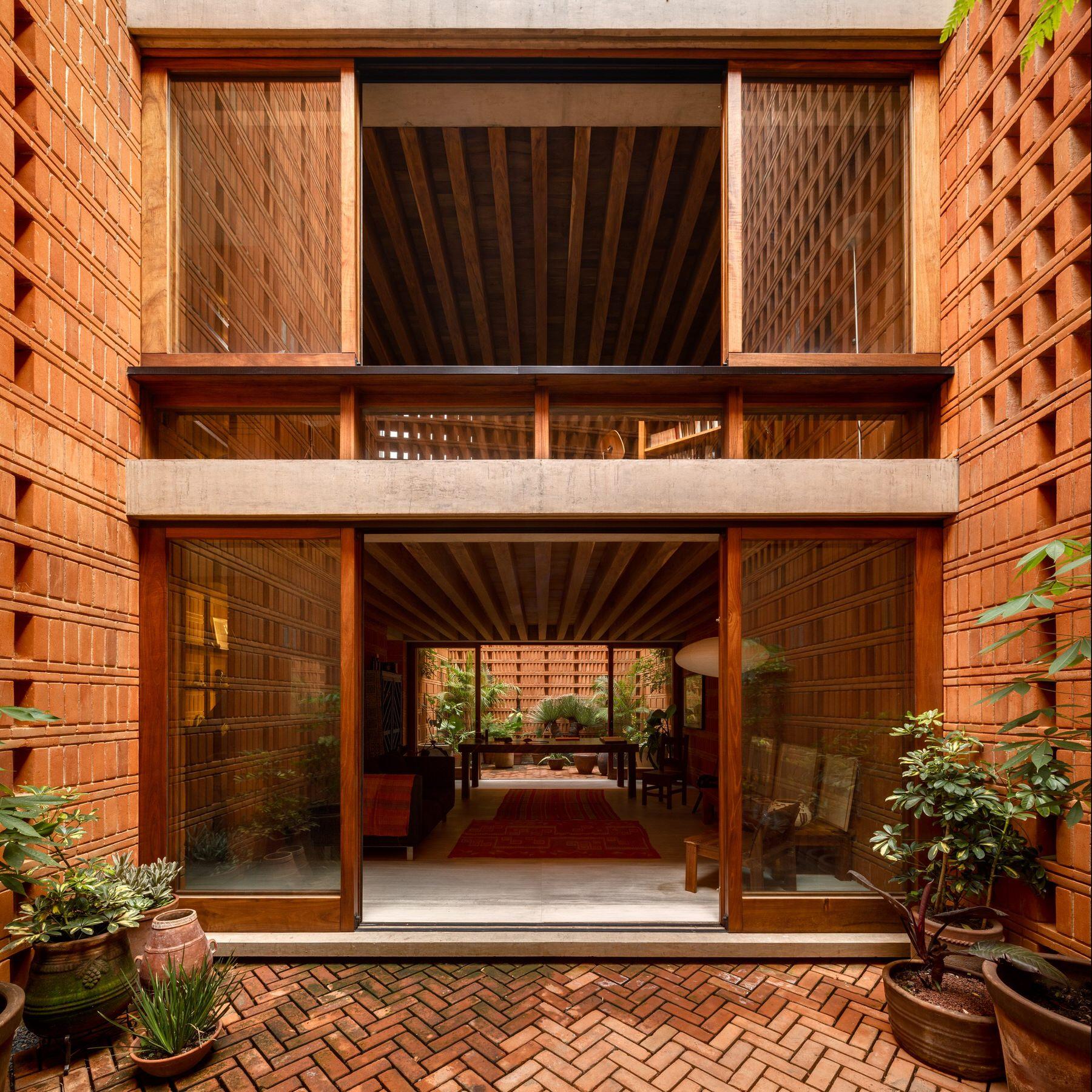 Iturbide Studio Mexico City Brick Architecture Taller Mauricio Rocha Gabriela Carrillo Yellowtrace 18