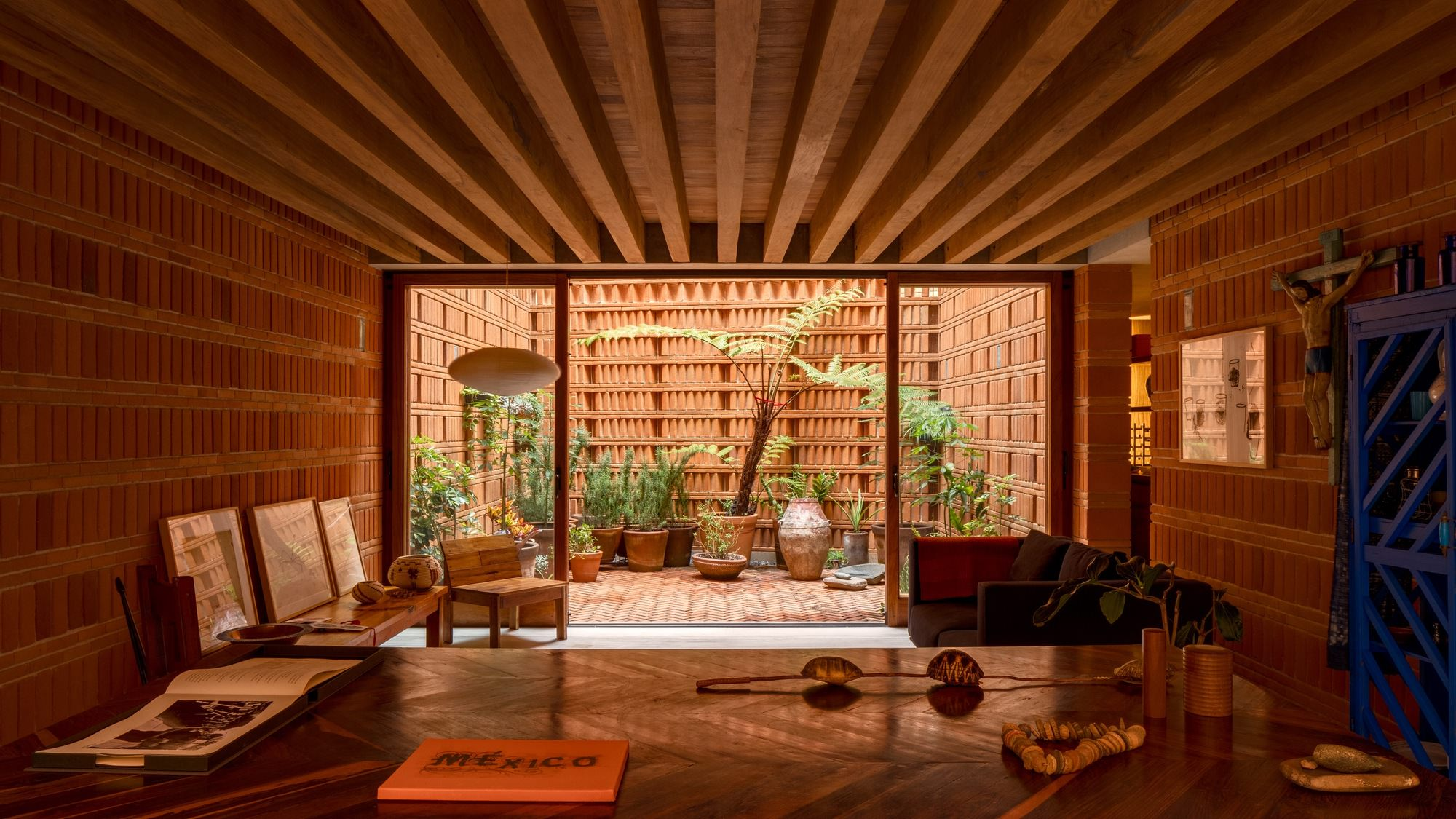 Iturbide Studio Mexico City Brick Architecture Taller Mauricio Rocha Gabriela Carrillo Yellowtrace 19