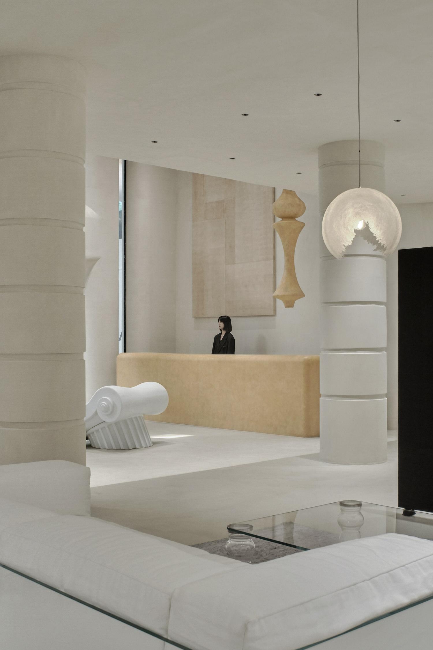 One Fine Day Studio & Partners, Mao Space Guangzhou, Fashion Retail Interiors | Yellowtrace