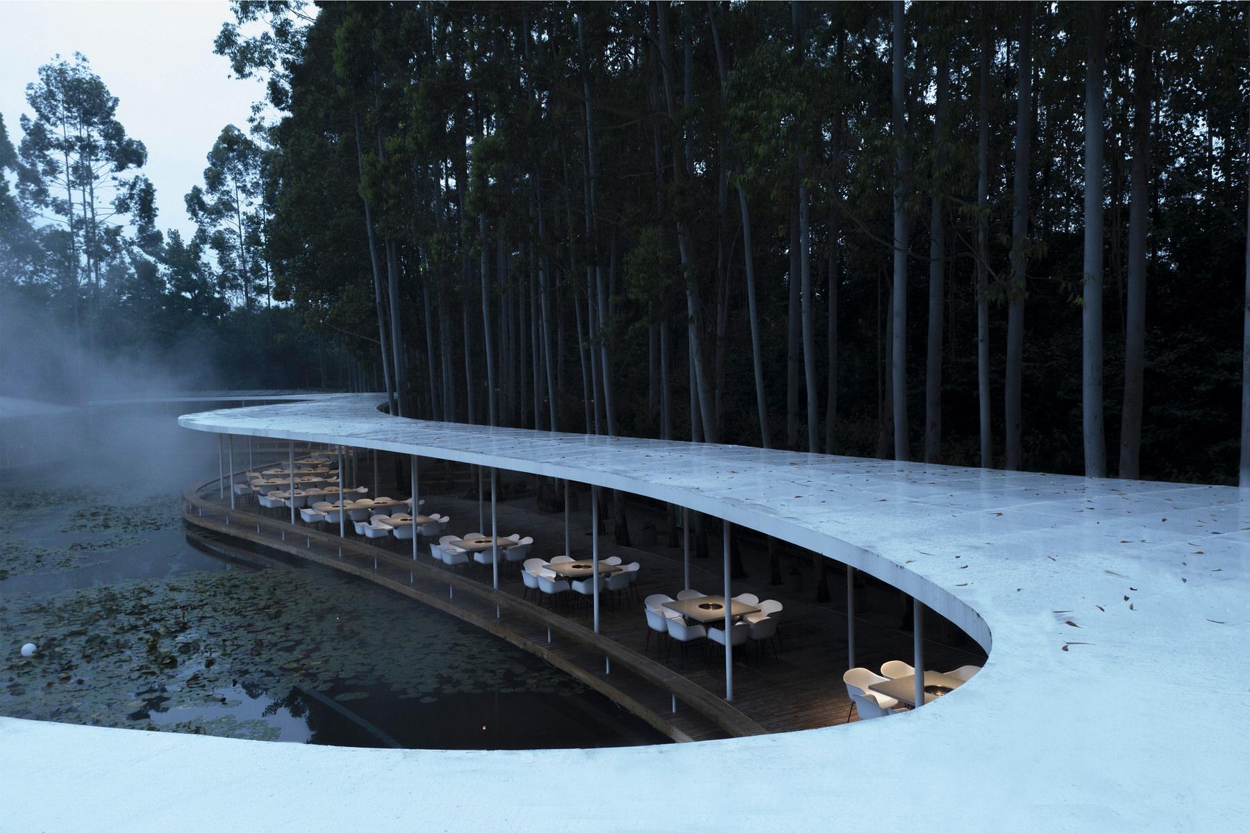 Muda Architects Garden Hotpot Restaurant Chengdu Biophilic Design Yellowtrace 04