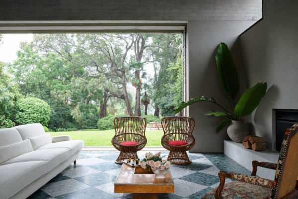 Polly Harbison Arent Pyke Garden House Lindfield Australian Homes Photo Anson Smart Yellowtrace