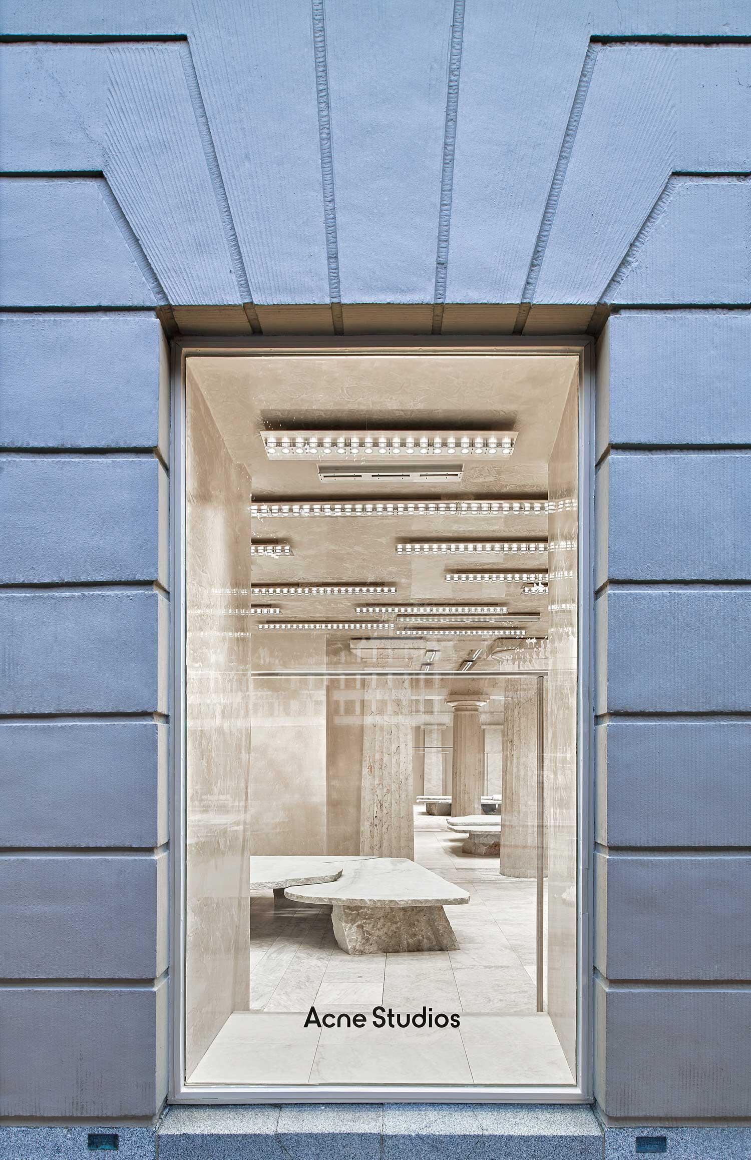 Arquitectura G Acne Studios Flagship Stockholm Fashion Retail Photo Jose Hevia | Yellowtrace