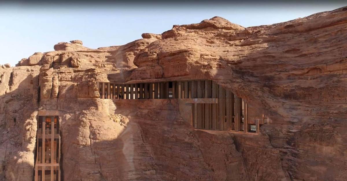 Jean Nouvel's Sharaan Resort Concept at AlUlá, Saudi Arabia Celebrates the Beauty of Past Civilisations.