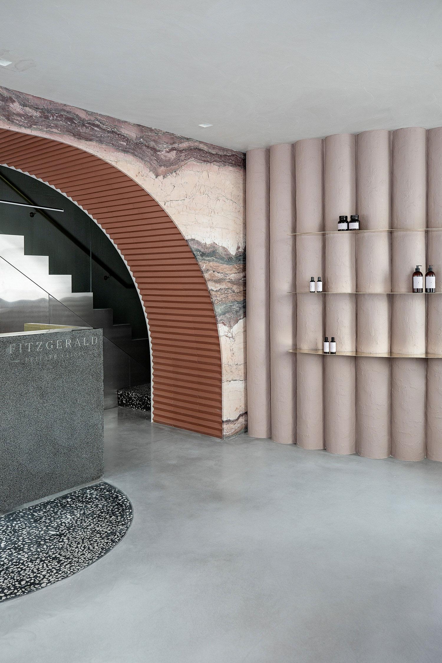 Fitzgerald Private Skin Clinic in Dublin by Kingston Lafferty Design.