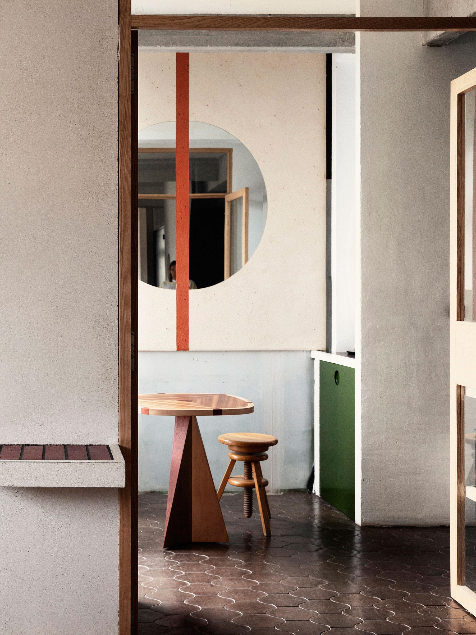 Elegantly Utilitarian: Paris Apartment by Ludivine Billaud.