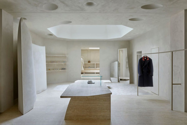 Maison Margiela, Burton St London Flagship, Studio Anne Holtrop, Luxury Fashion Retail, Photo Henry Bourne | Yellowtrace