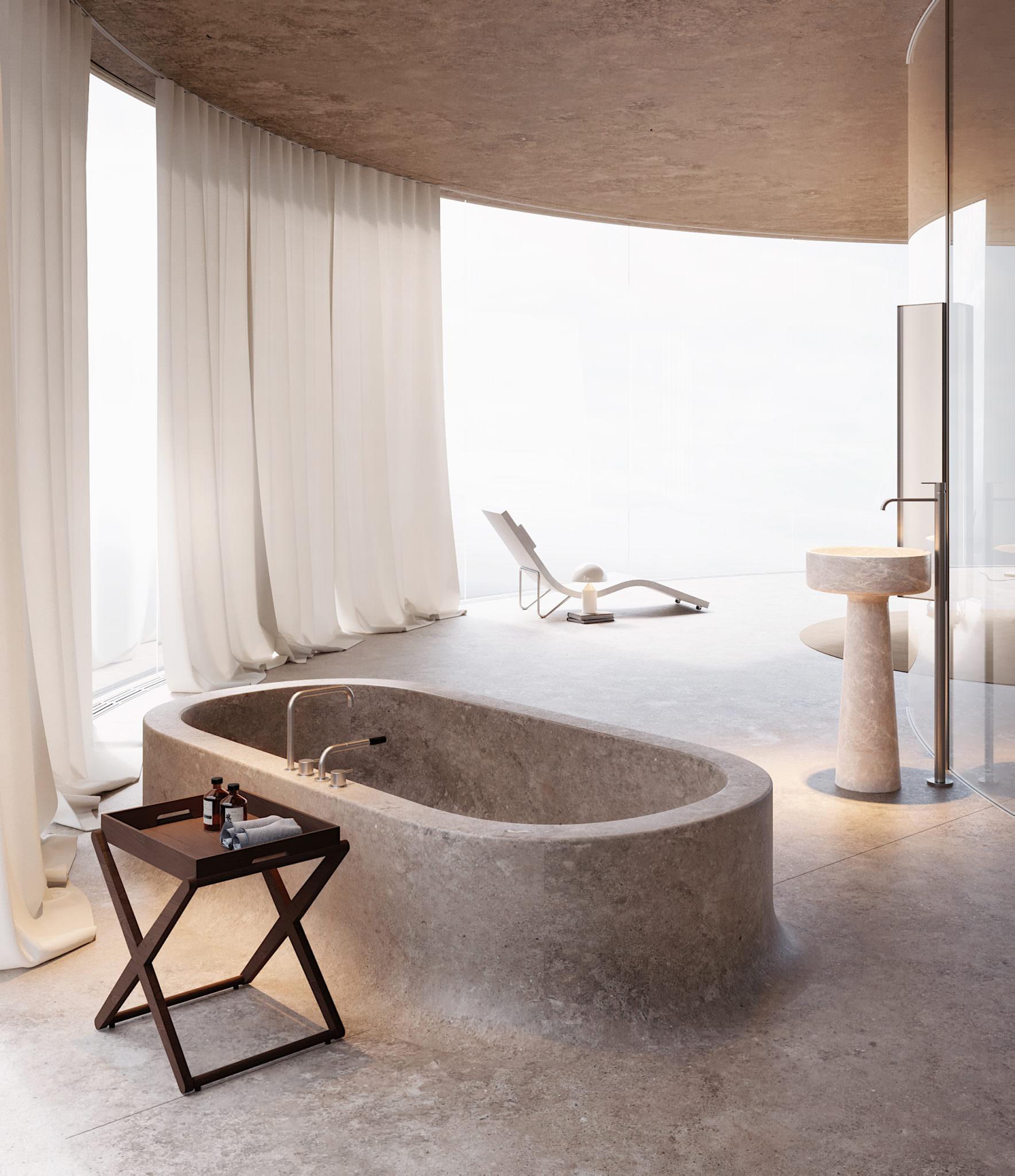 Beach Hotel Concept Design, Odessa Ukraine,Alexey Gulesha,Sivak Partners | Yellowtrace