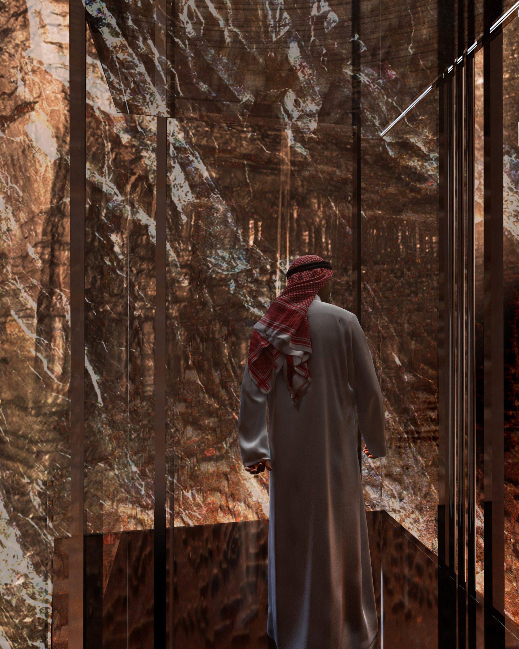 Jean Nouvel, Sharaan Resort Concept, Al 'Ulá, Saudi Arabia, Rock Buildings | Yellowtrace