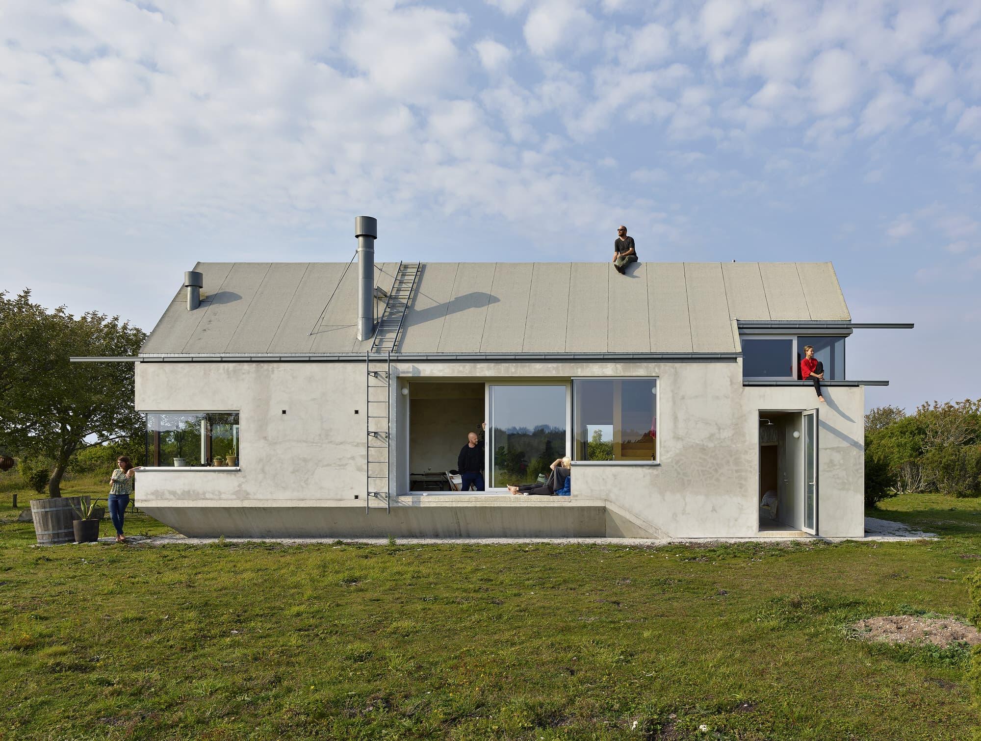 Hamra Studio Residence on Gotland Island, Sweden by Collectif Encore.