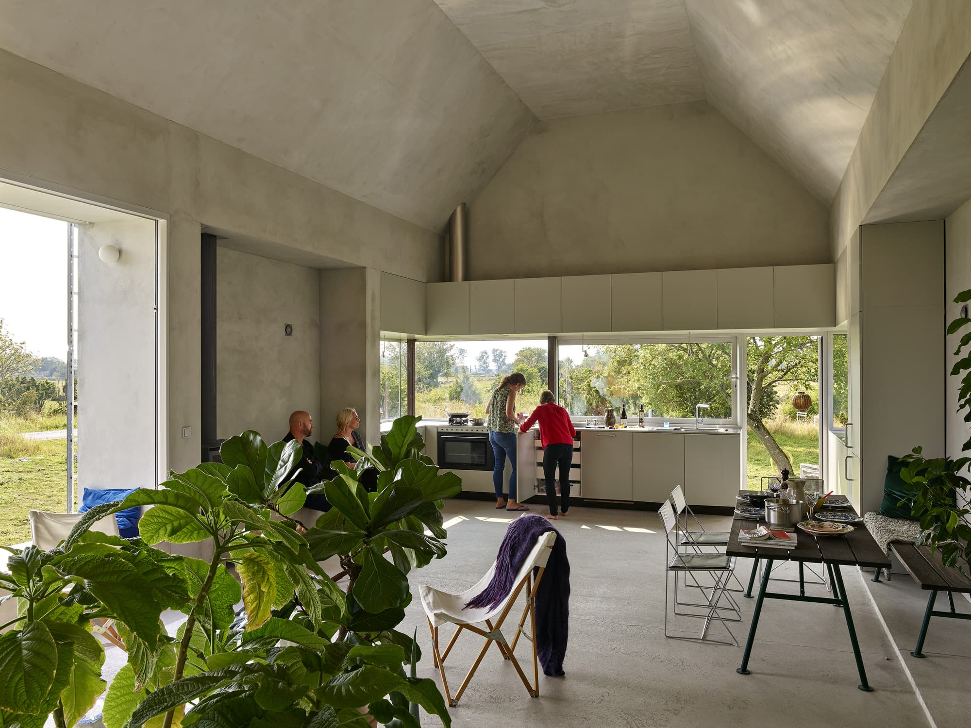 Collectif Encore, Hamra Studio Residence, Gotland Island, Sweden Architecture, Photo Michel Bonvin | Yellowtrace