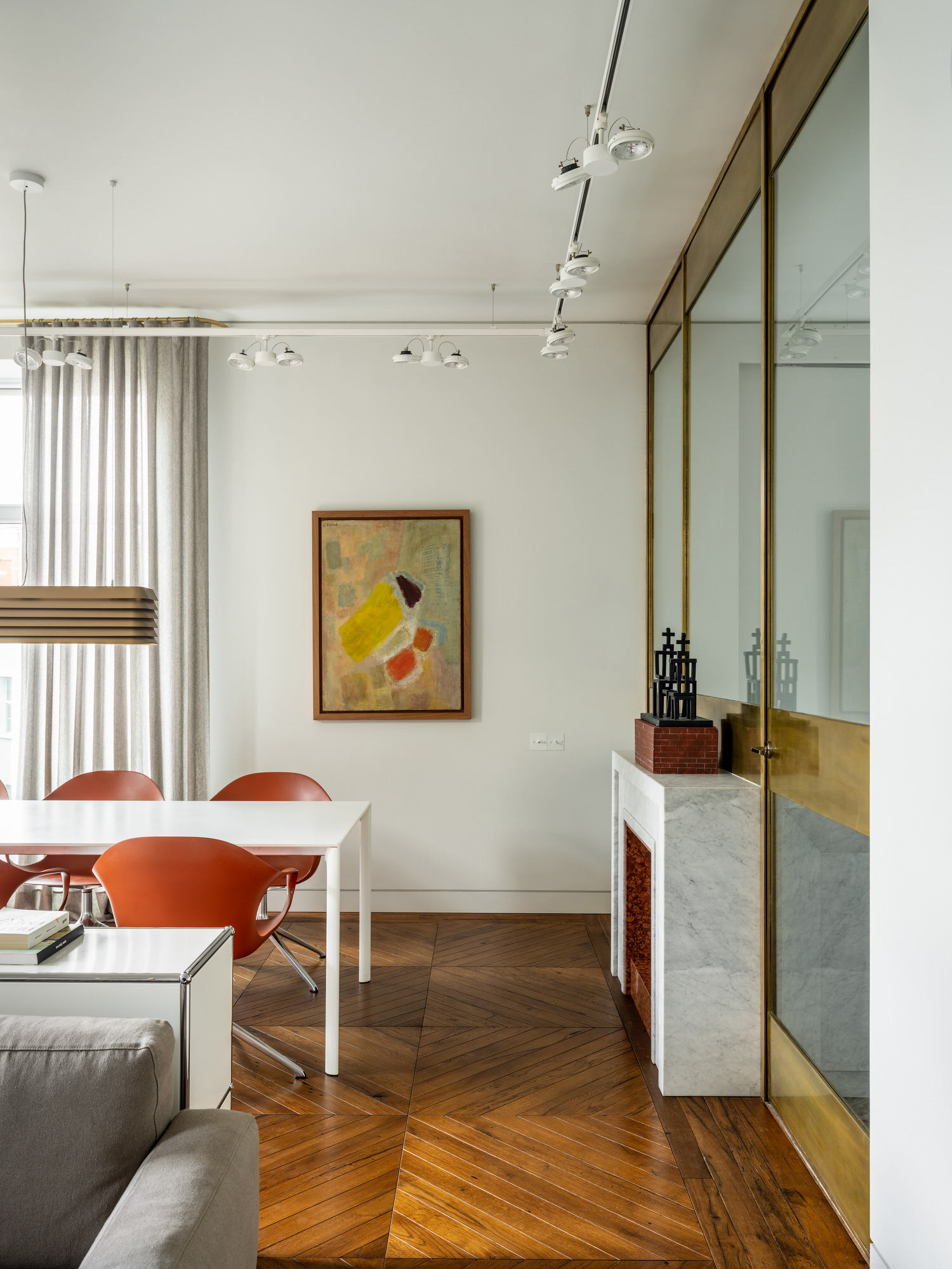 Blockstudio, Apartment Of Basta, Moscow Home, Photo Mikhail Loskutov | Yellowtrace