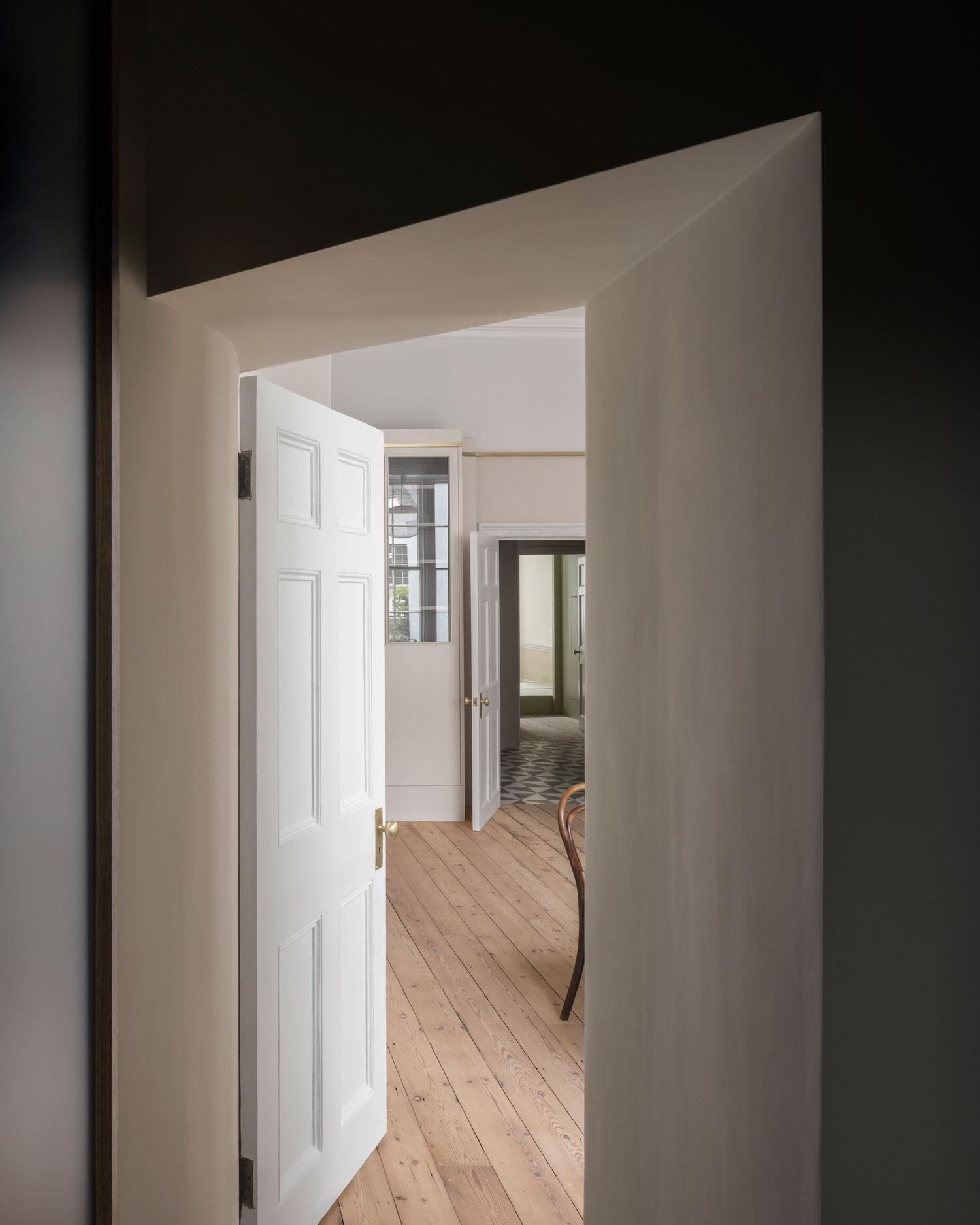 Excavated Volumes: Marylebone Apartment by Jonathan Tuckey Design.