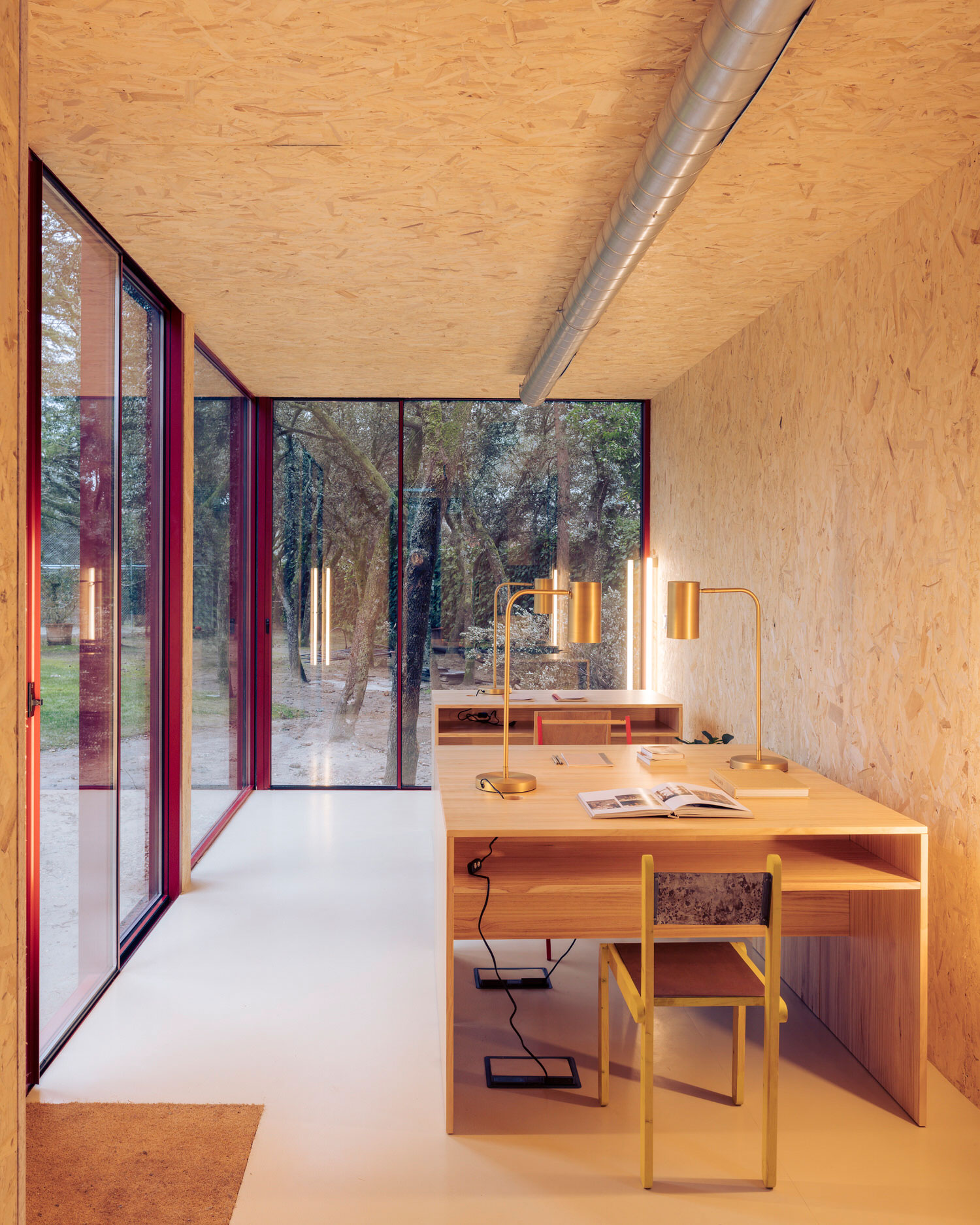 Ignacio De La Vega, Tini Office, Prefab Cabins, Corten Steel OSB Wood   Yellowtrace