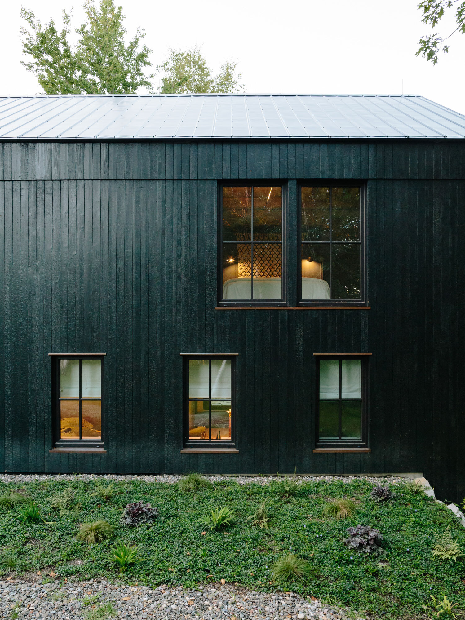 BarlisWedlick, Fox Hall House Hudson Valley, Passive Design, Photo Brian Ferry | Yellowtrace