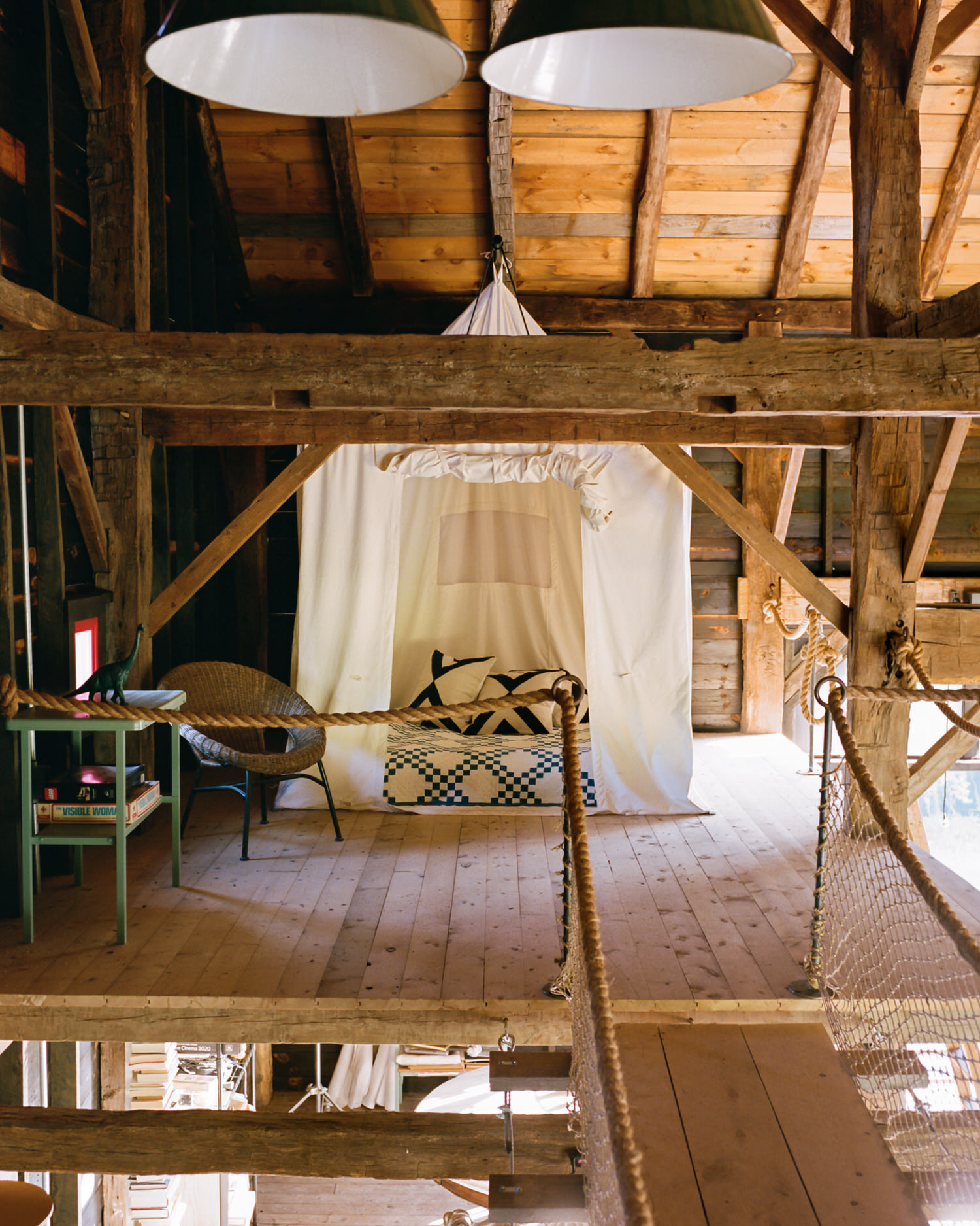 Barlis Wedlick, Fox Hall Barn, Hudson Valley, Photo Brian Ferry | Yellowtrace