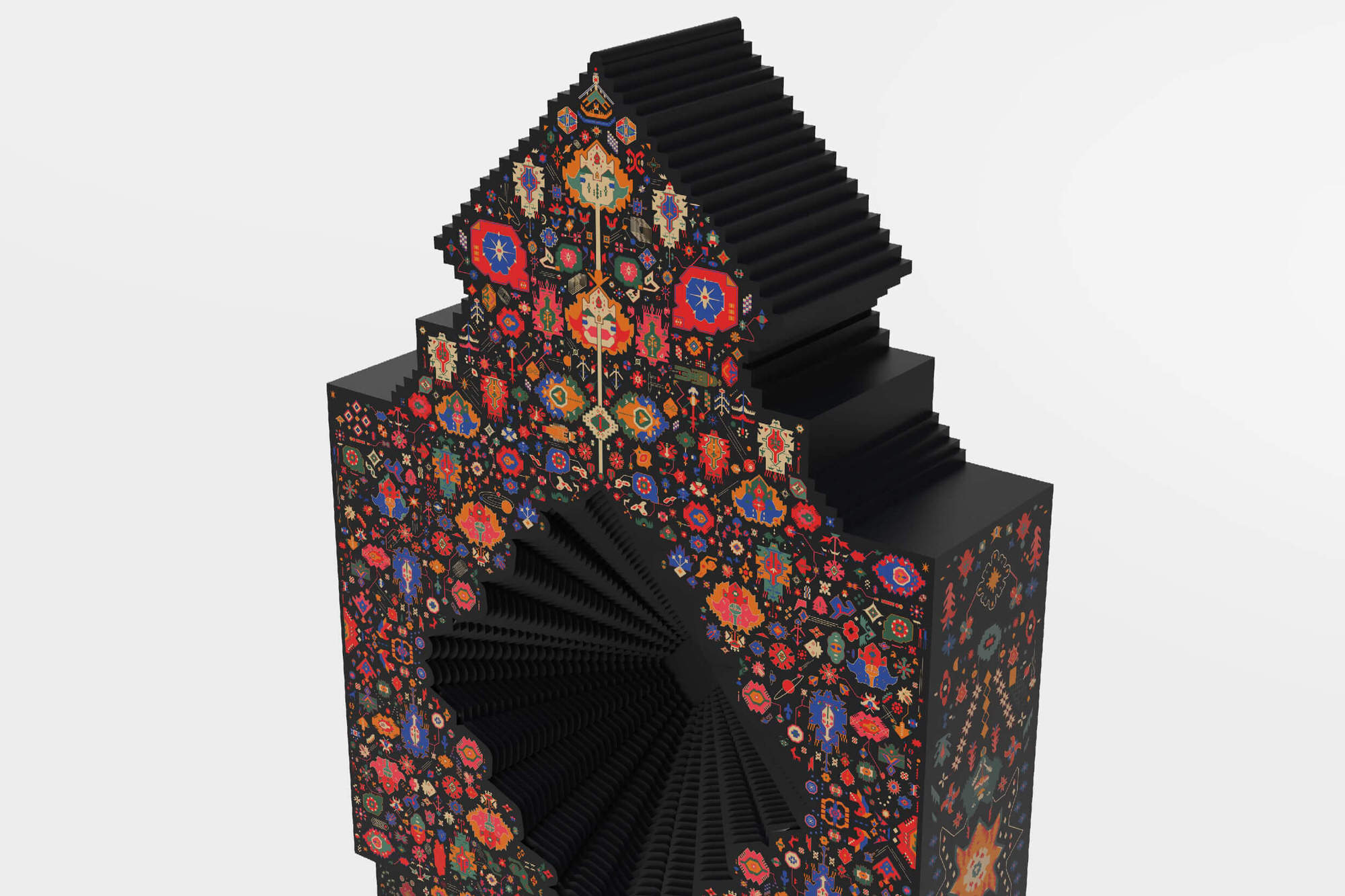 Design by Reborn's Persian Carpet Reincarnates as a 2-meter Magnetic Robot from Saigon.