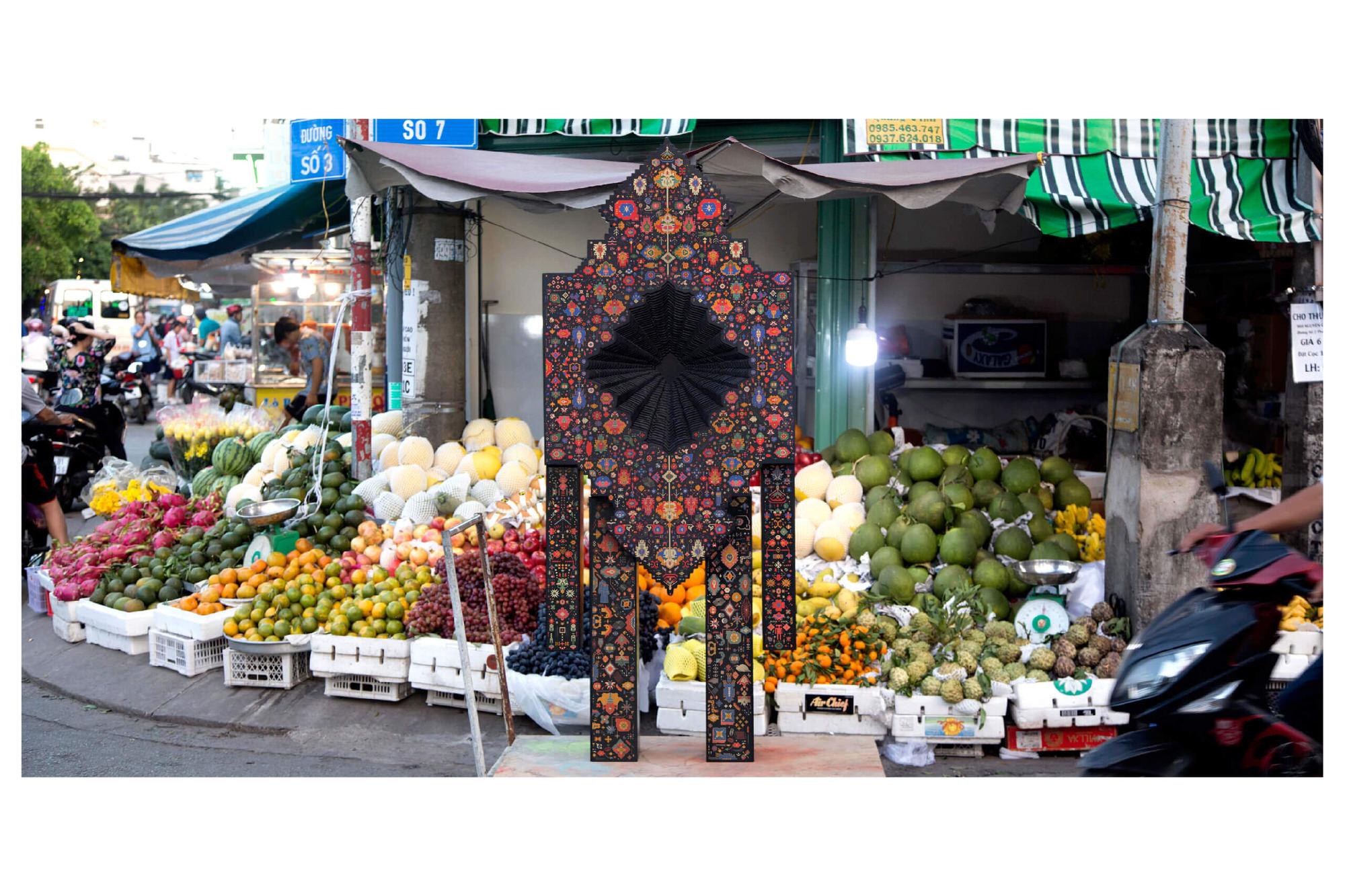 Ravana, Design By Reborn, Persian Carpet Reincarnation in Saigon | Yellowtrace