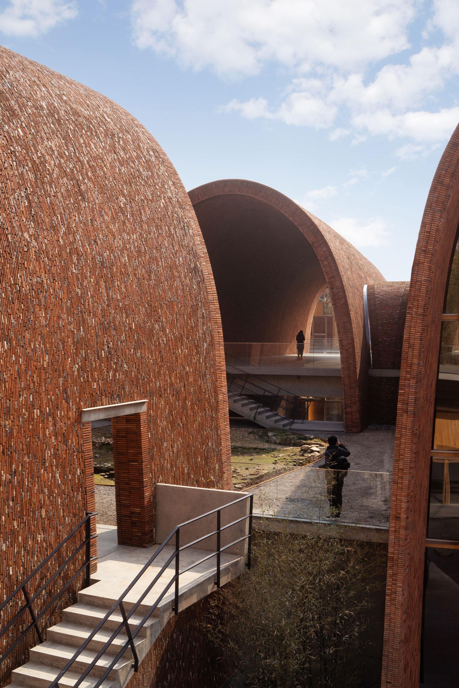Jingdezhen Imperial Kiln Museum in Jingdezhen Shi, China by Studio Zhu-Pei.